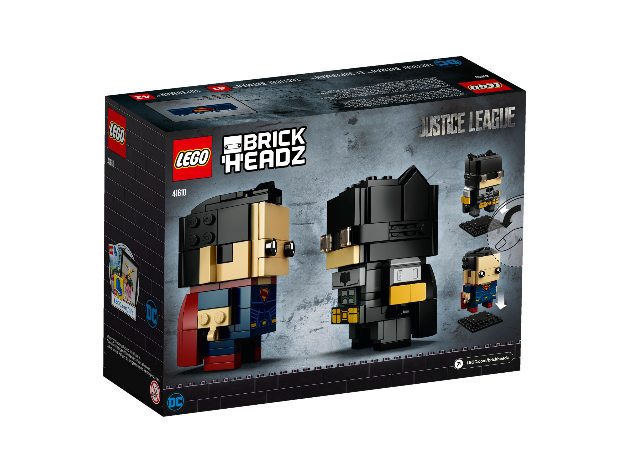 LEGO BrickHeadz 41610 Tactical Batman™ & Superman™ LEGO_41610_alt2.jpg