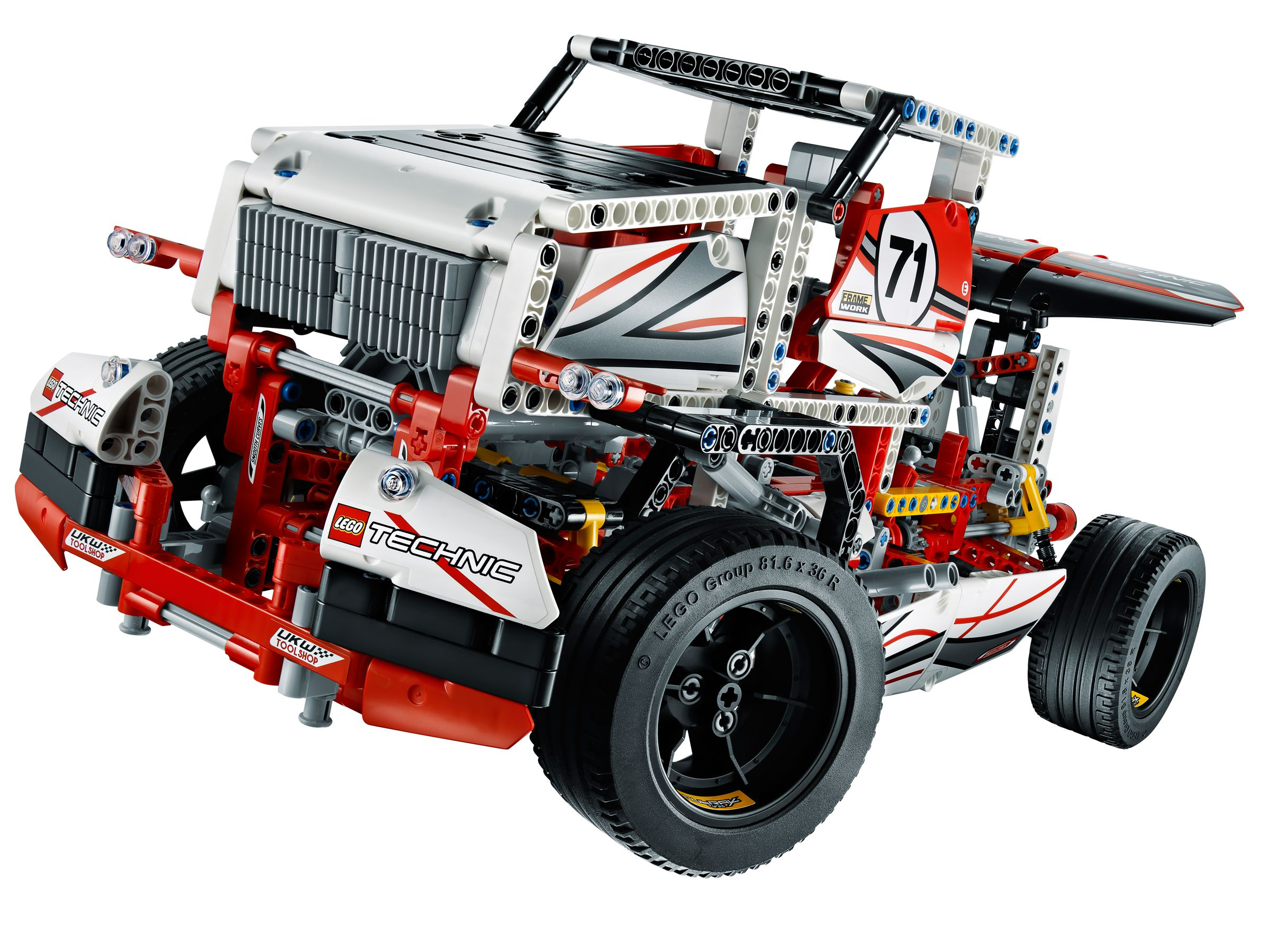 lego 42000 sportwagen technic 2013 grand prix racer. Black Bedroom Furniture Sets. Home Design Ideas