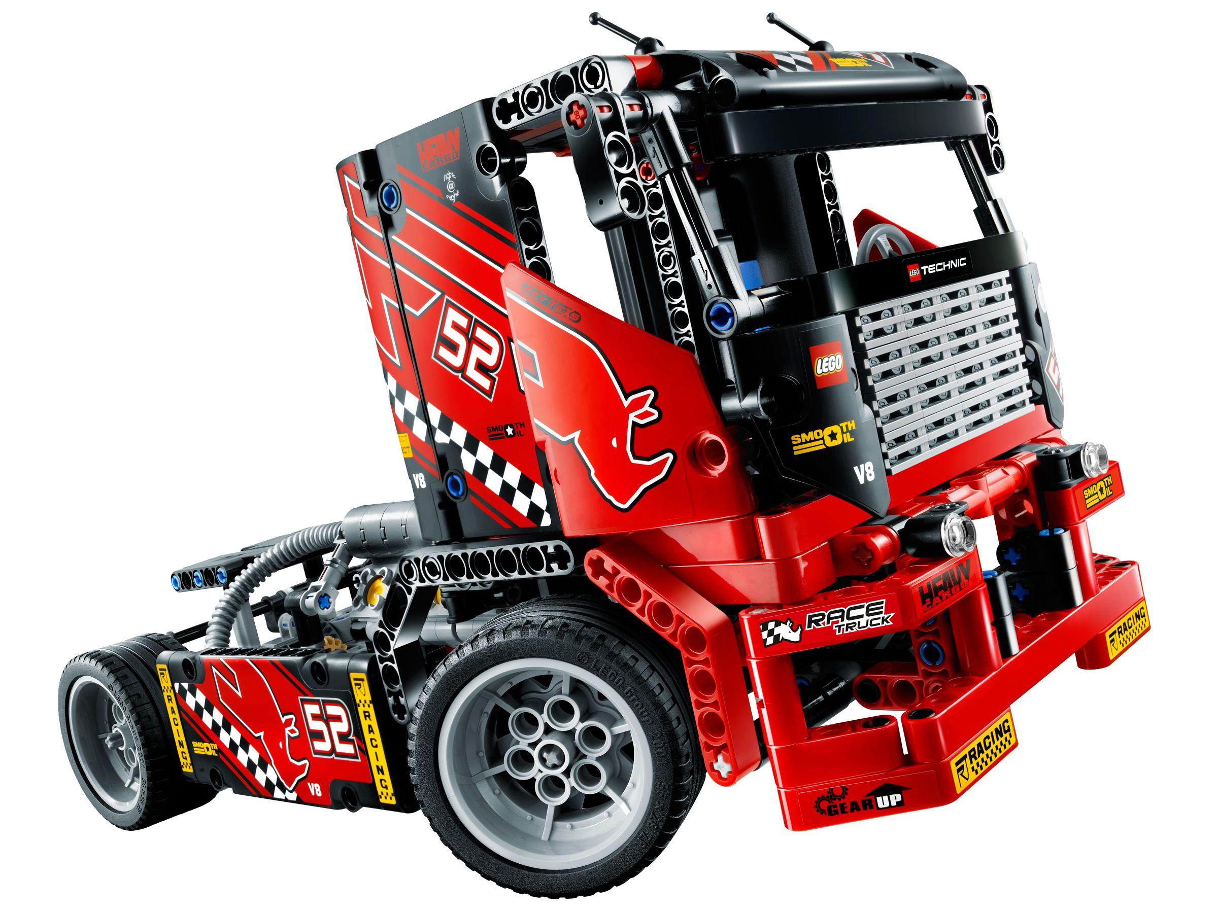 lego 42041 renn truck technic 2015 race truck. Black Bedroom Furniture Sets. Home Design Ideas