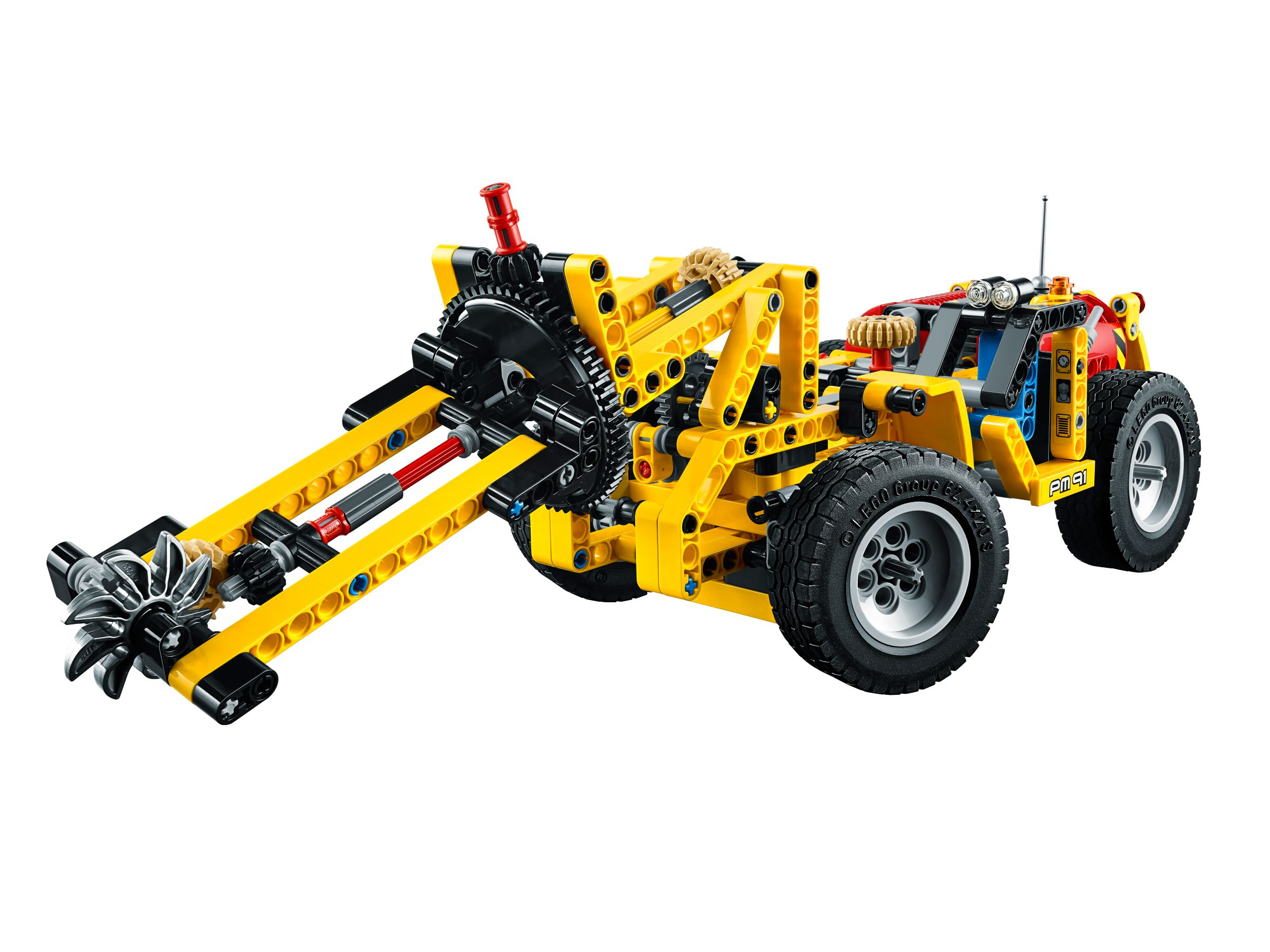 lego 42049 bergbau lader technic 2016 mine loader brickmerge. Black Bedroom Furniture Sets. Home Design Ideas