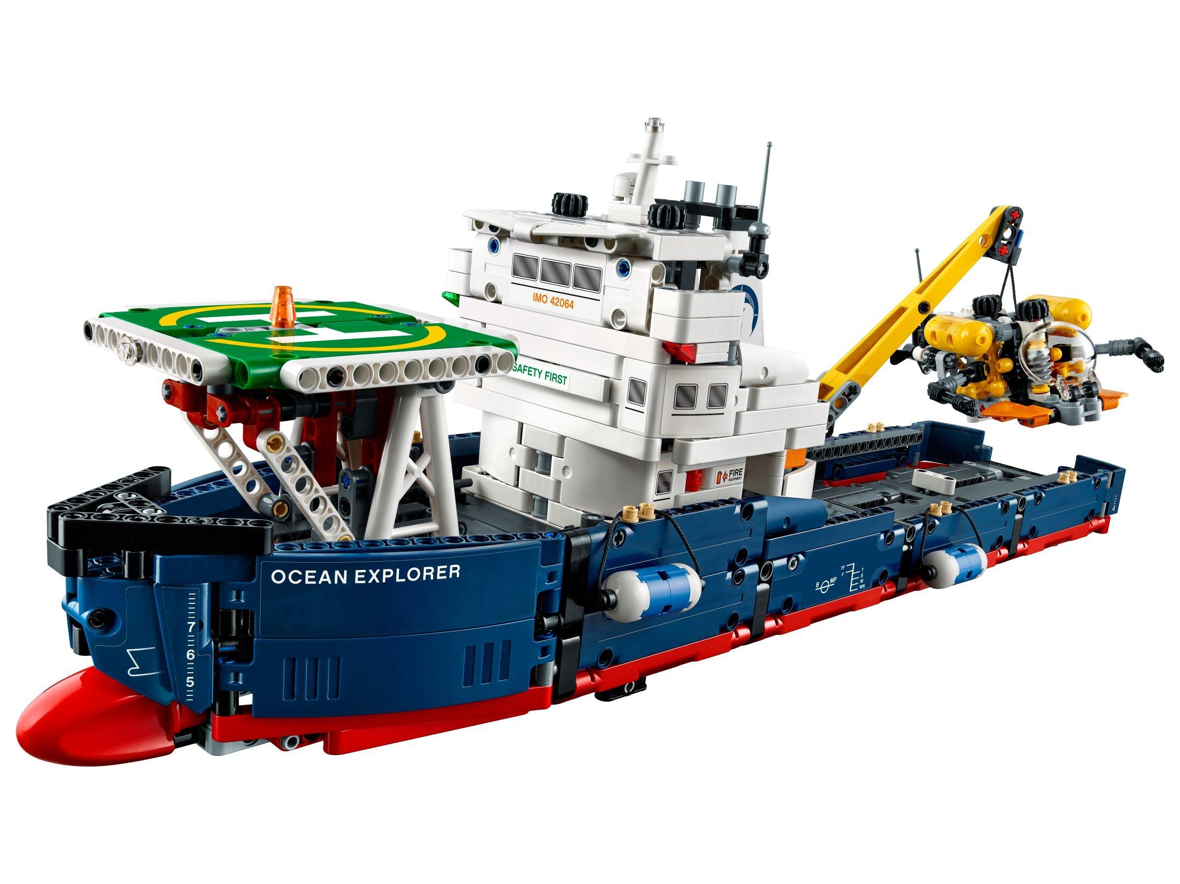 31 ab 61 99 forschungsschiff 42064 lego technic. Black Bedroom Furniture Sets. Home Design Ideas