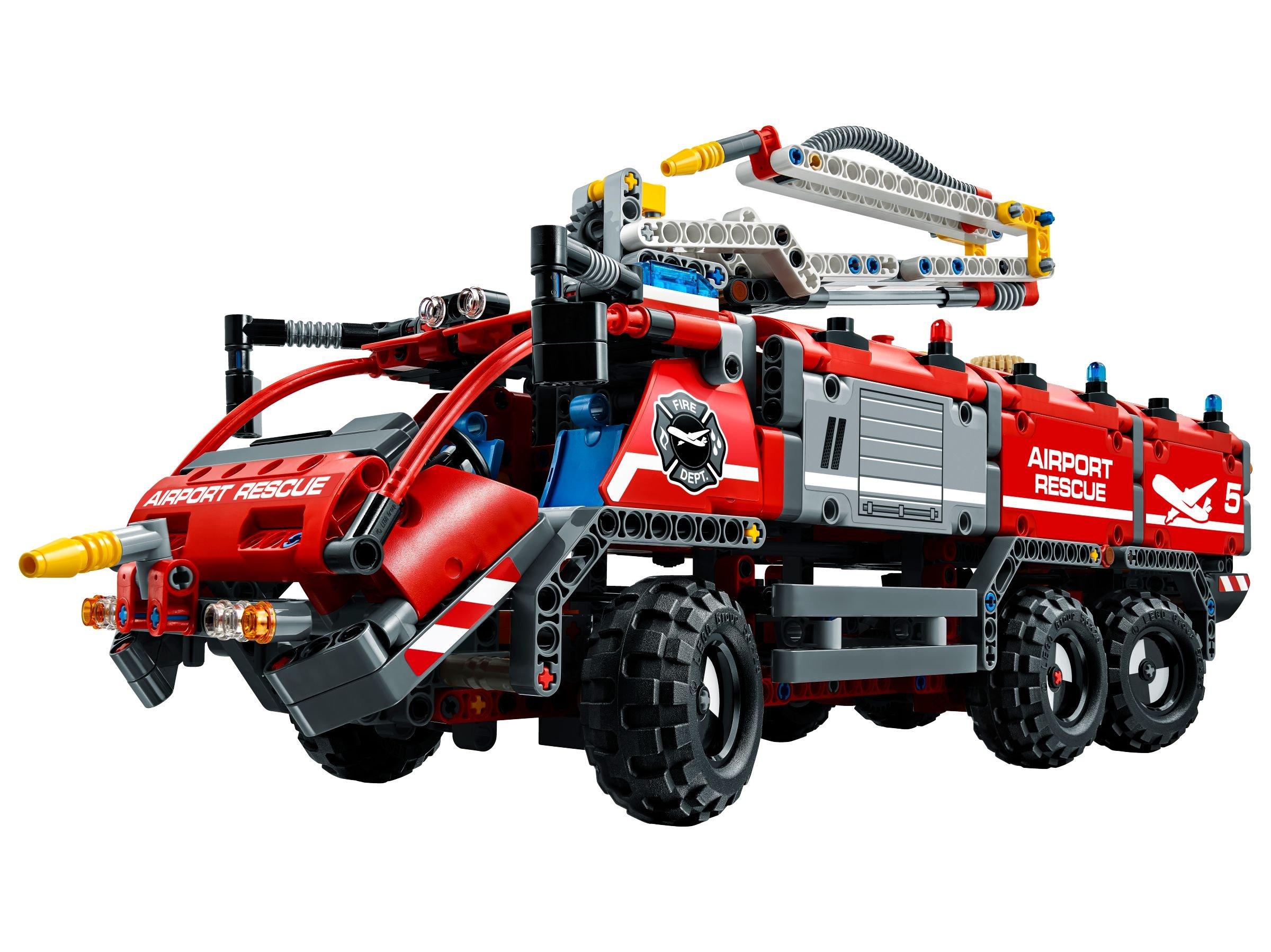 lego technic 42068 flughafen l schfahrzeug brickmerge. Black Bedroom Furniture Sets. Home Design Ideas