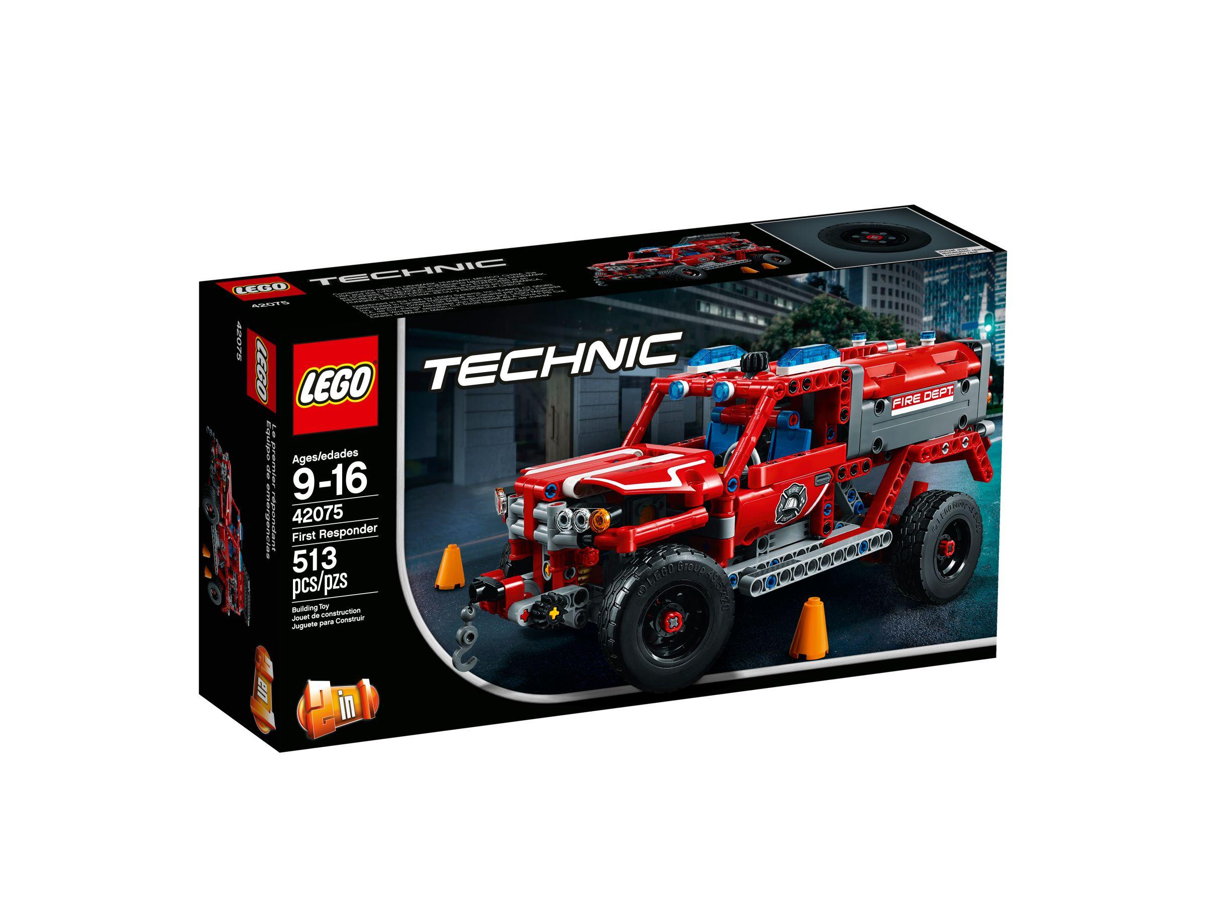 lego technic 42075 first responder ab 27 97 30 gespart. Black Bedroom Furniture Sets. Home Design Ideas