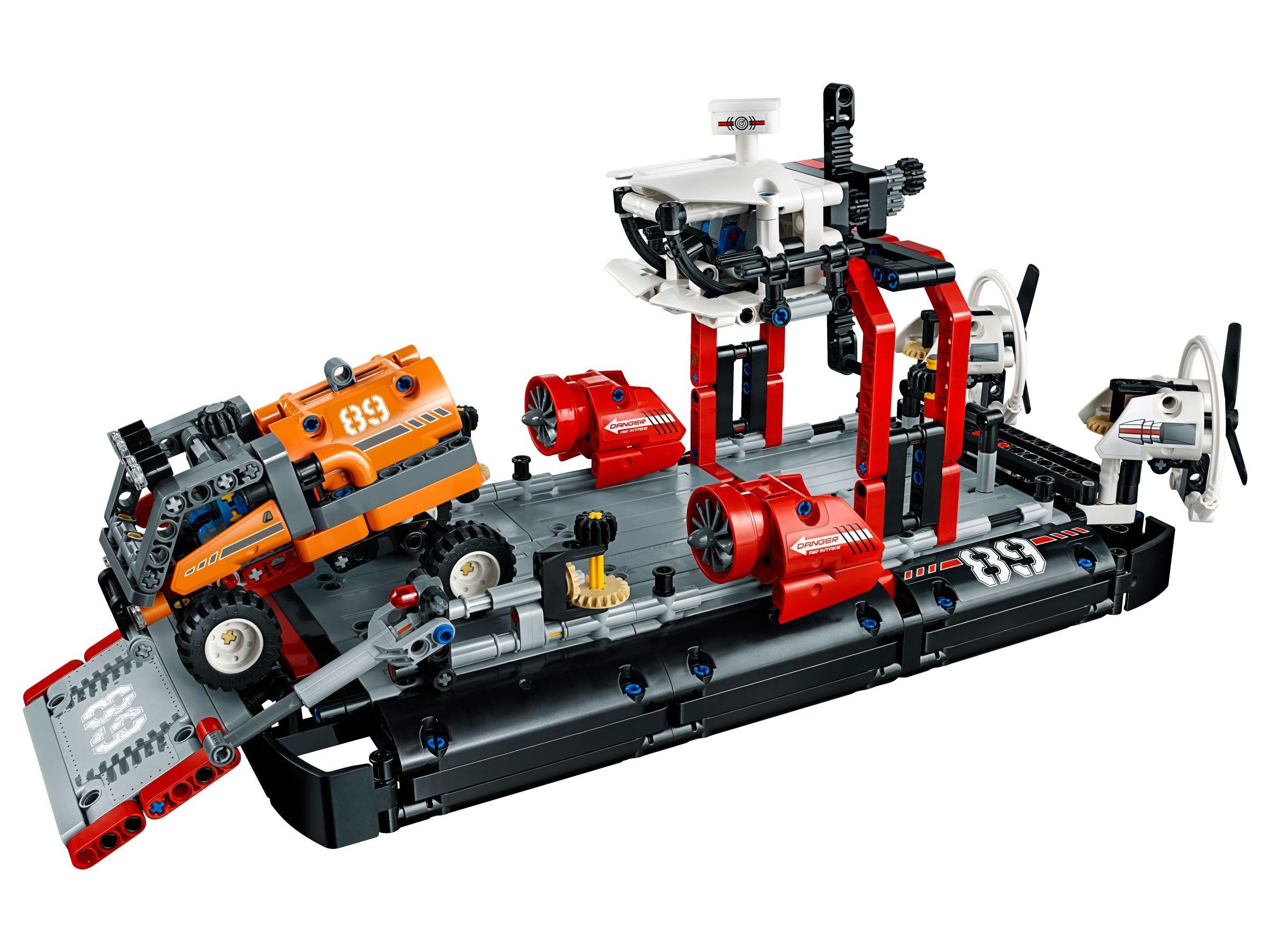 lego 42076 luftkissenboot technic 2018 ab 52 77 25 gespart hovercraft brickmerge. Black Bedroom Furniture Sets. Home Design Ideas