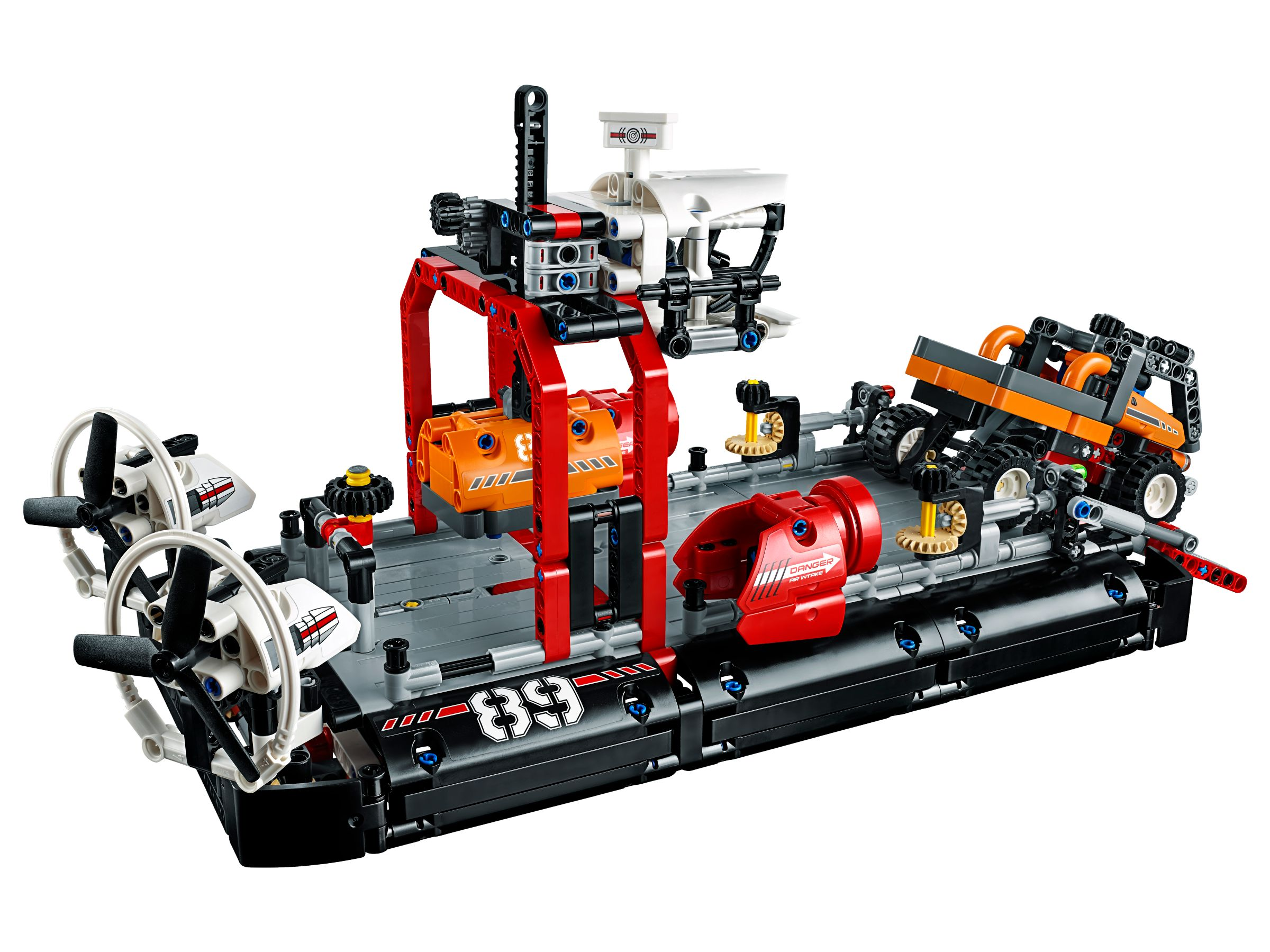 lego 42076 luftkissenboot technic 2018 ab 49 99 29 gespart hovercraft brickmerge. Black Bedroom Furniture Sets. Home Design Ideas