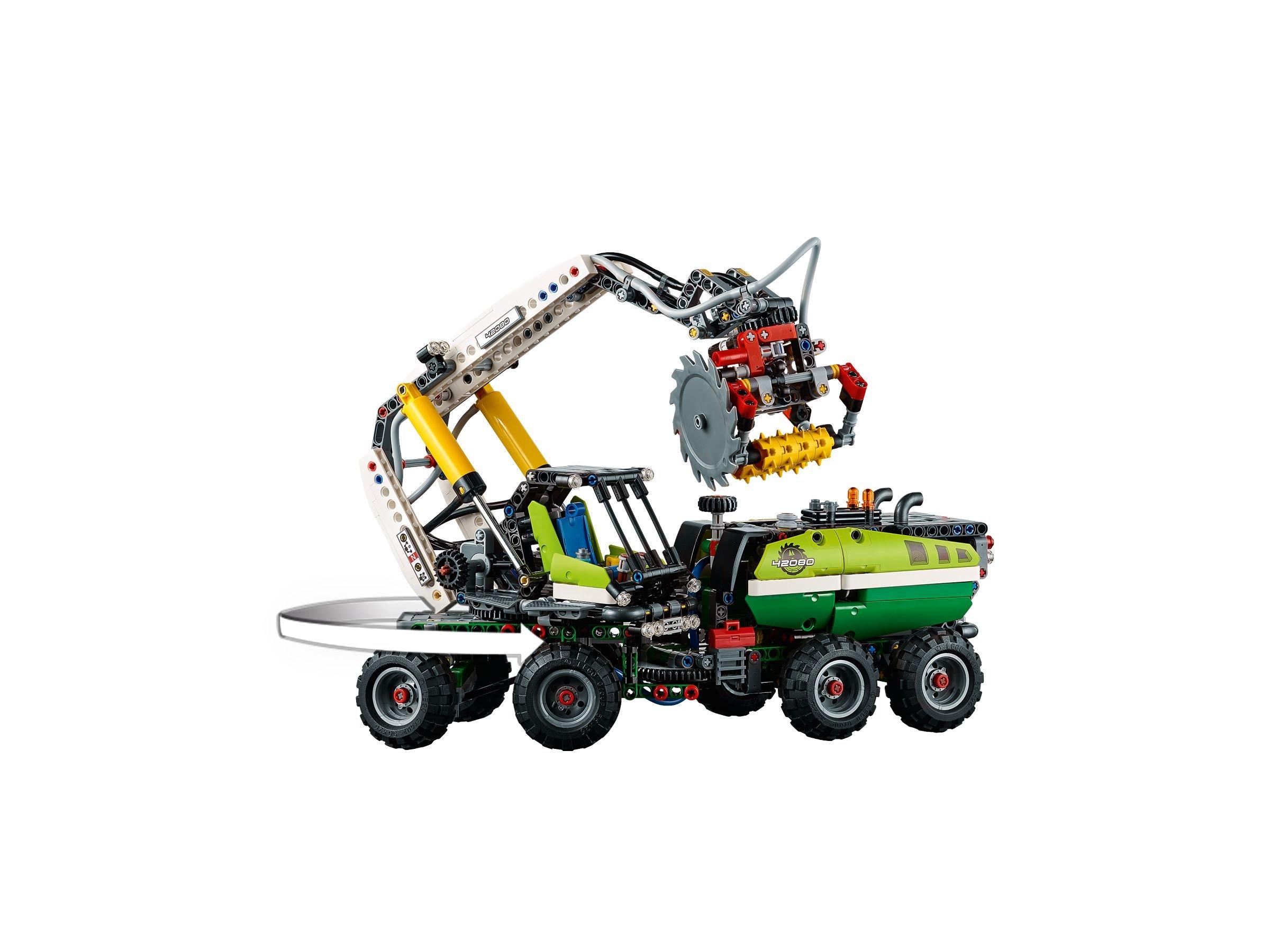 lego 42080 ab 96 99 25 gespart technic harvester forstmaschine im brickmerge preisvergleich. Black Bedroom Furniture Sets. Home Design Ideas
