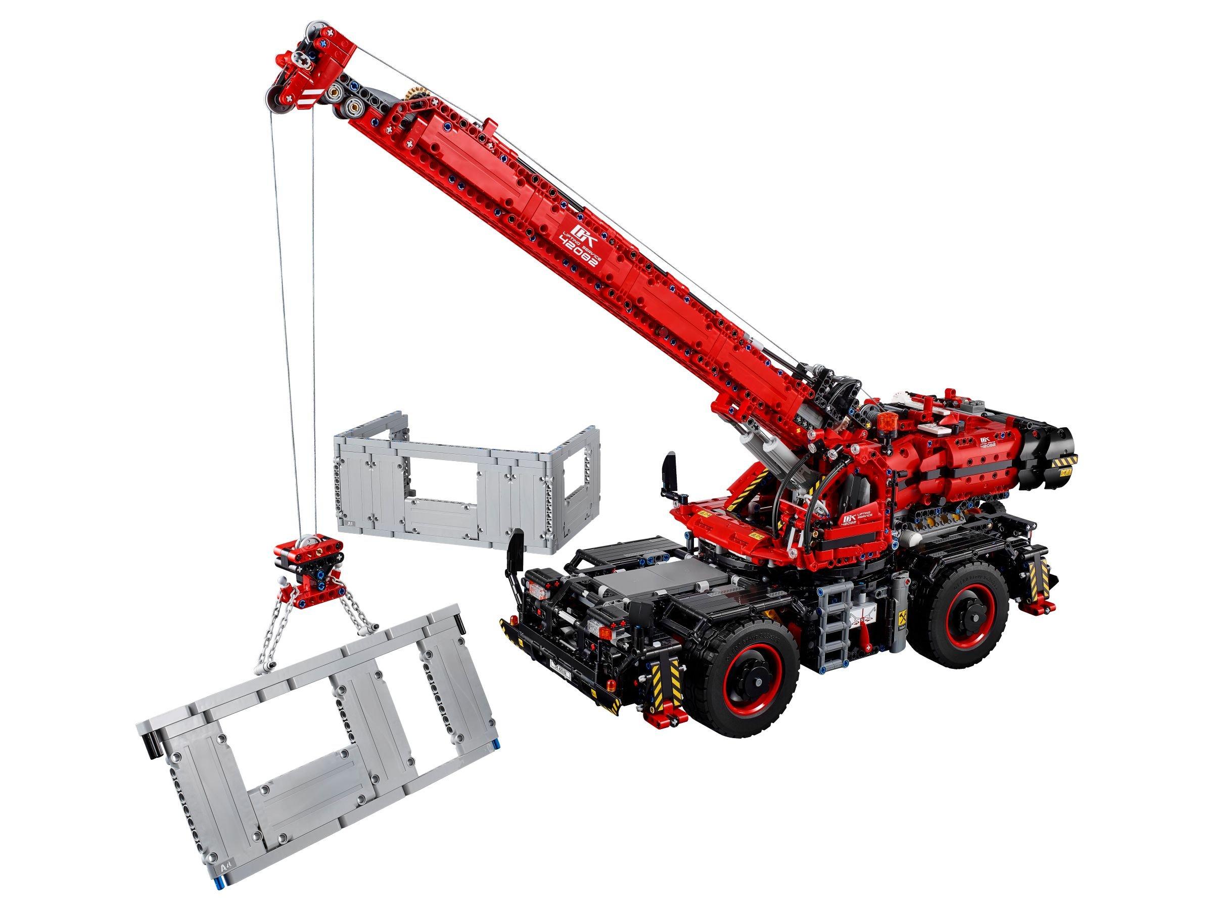 lego technic 42082 gel ndeg ngiger kranwagen ab 162 47. Black Bedroom Furniture Sets. Home Design Ideas