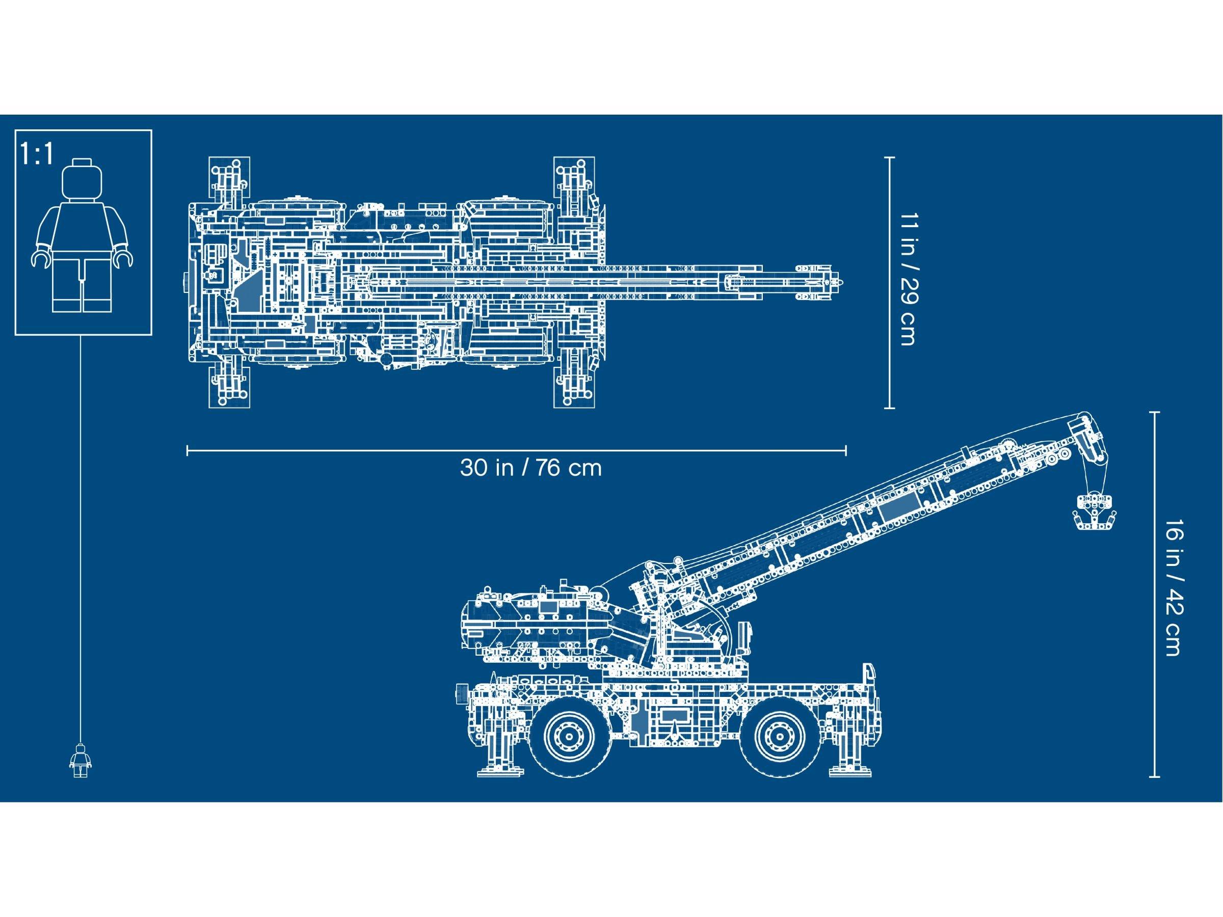 Lego Technic 42082 Geländegängiger Kranwagen Ab 16099 30