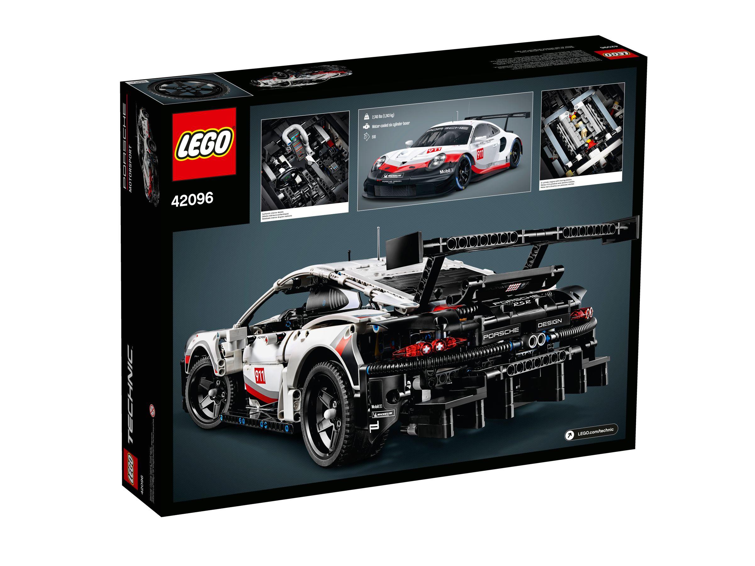 lego technic 42096 porsche 911 rsr ab 104 99 30. Black Bedroom Furniture Sets. Home Design Ideas