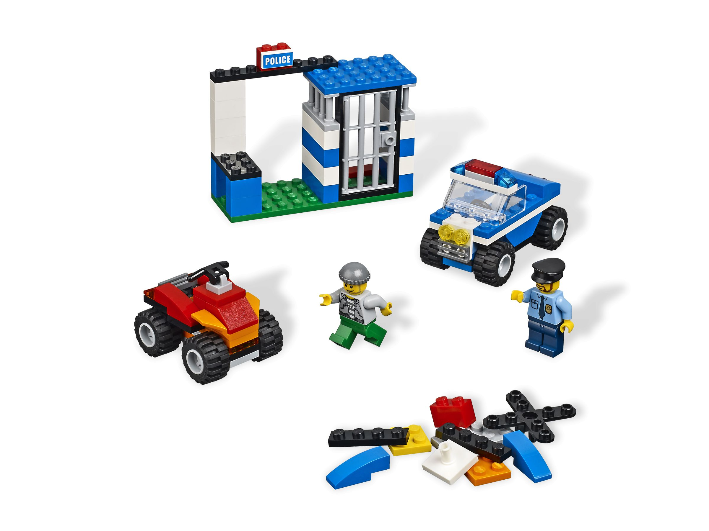 LEGO Bricks and More 4636 Police Building Set LEGO_4636.jpg