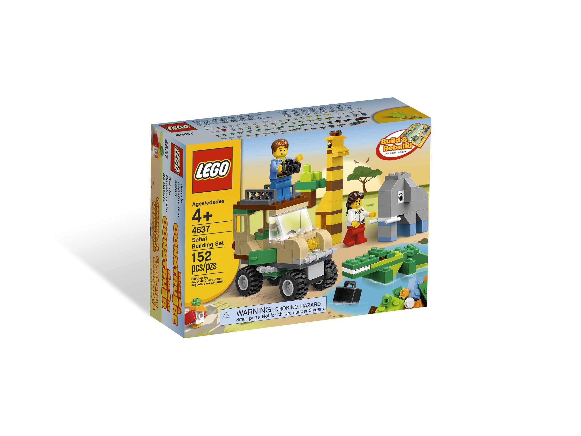 LEGO Bricks and More 4637 Safari Building Set LEGO_4637_alt1.jpg