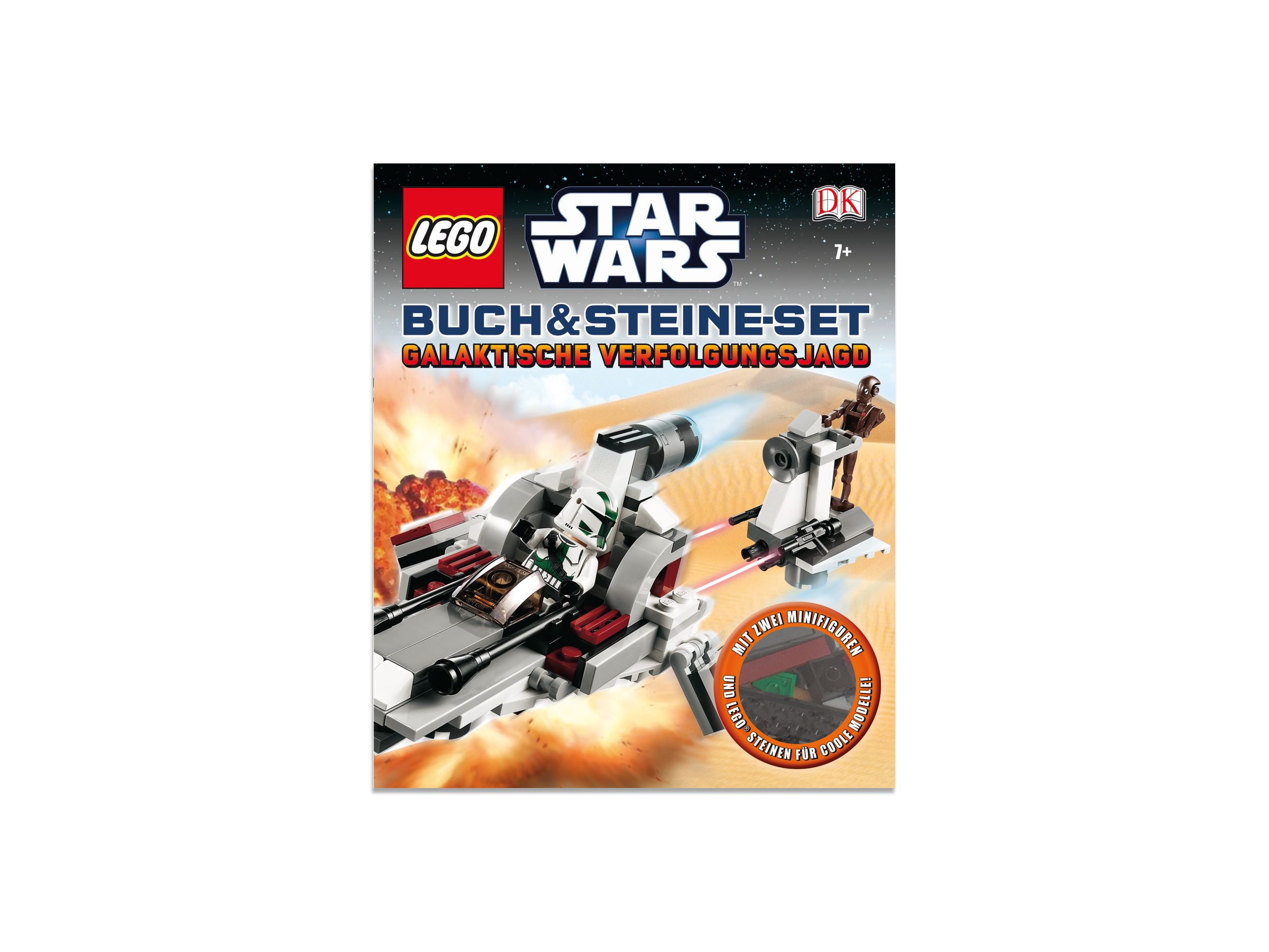 lego 5002898 lego brickmaster star wars intergalaktische verfolgungsjagd buch 2014 ab 17. Black Bedroom Furniture Sets. Home Design Ideas