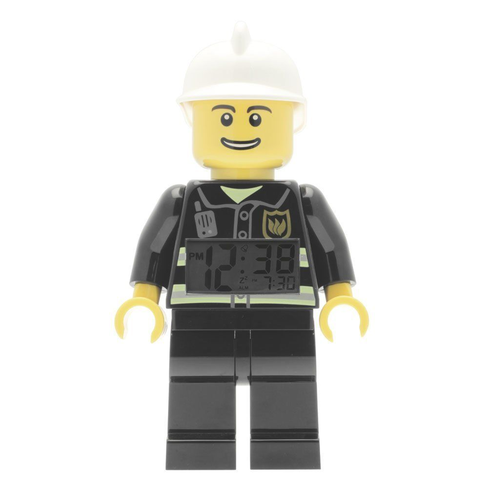 LEGO Gear 5004544 LEGO CITY FIREMAN WECKER