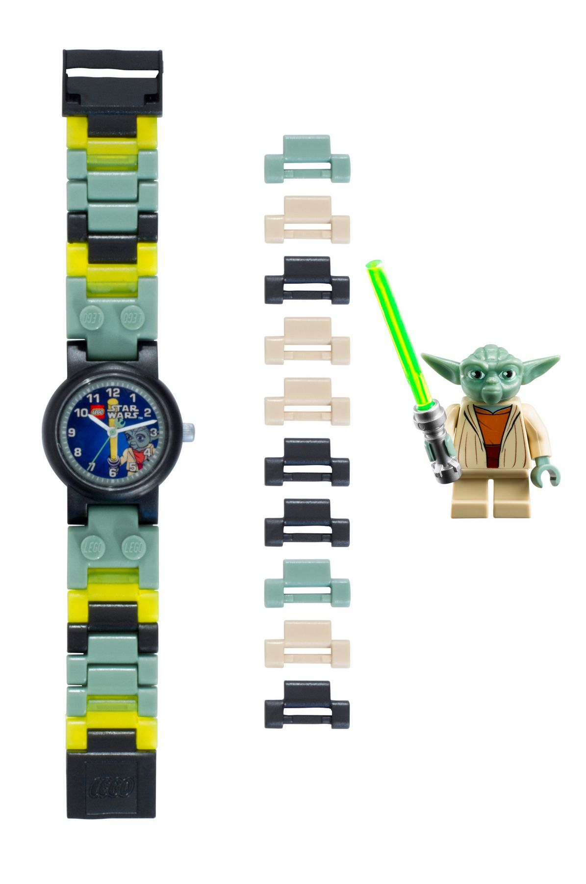LEGO® Gear 5005017 LEGO® Star Wars™ Yoda™ Minifiguren-Uhr