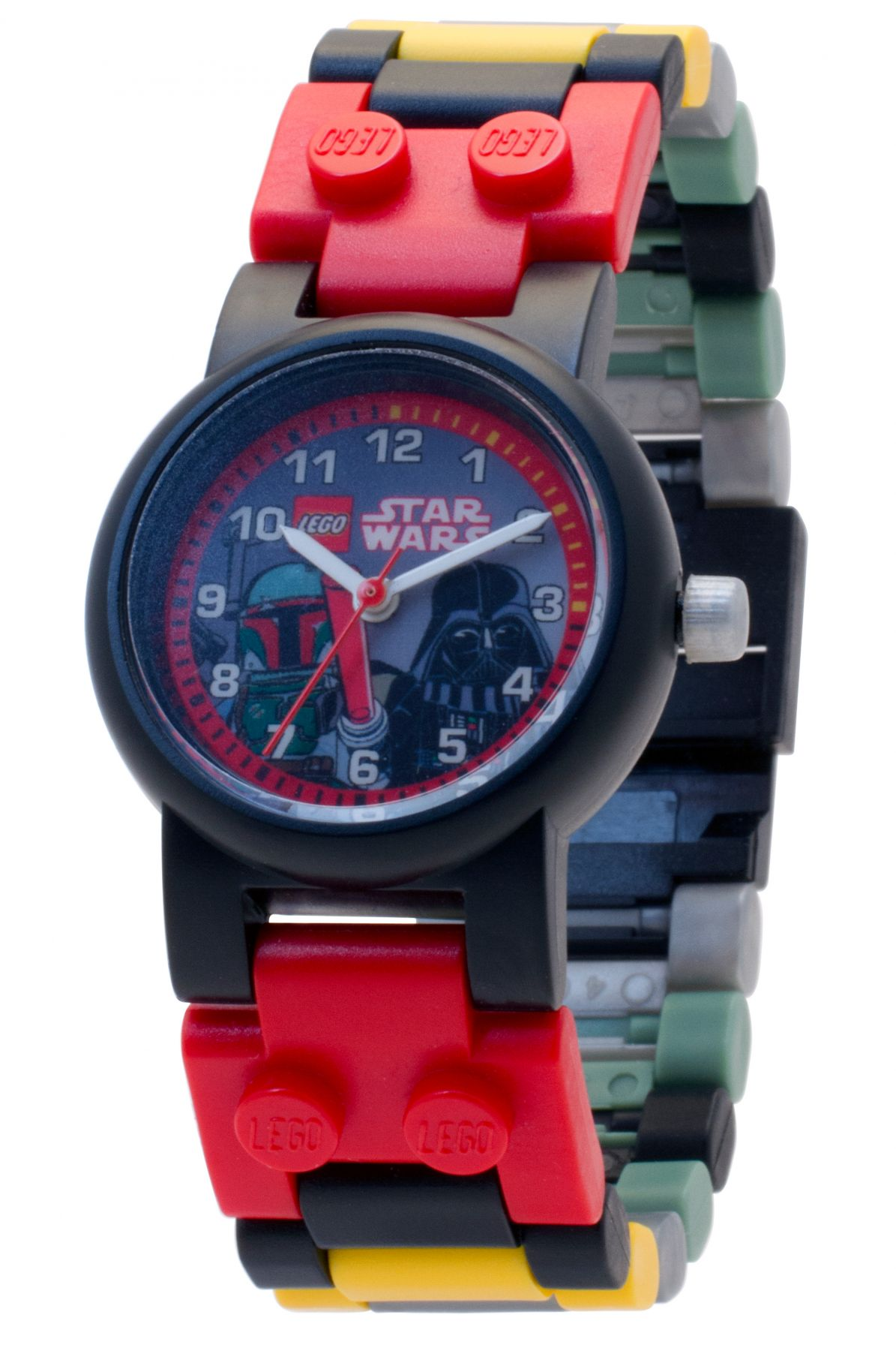 LEGO Gear 5005332 LEGO® Star Wars™ Kinderuhr mit Boba Fett™ und Darth Vader™