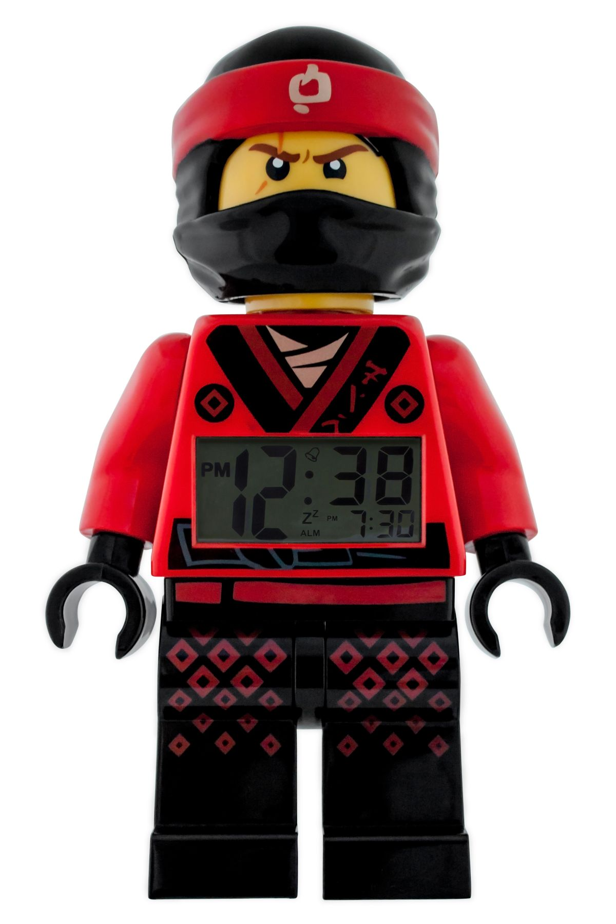 LEGO Gear 5005367 THE LEGO® NINJAGO® MOVIE™ Kai Minifigur-Wecker