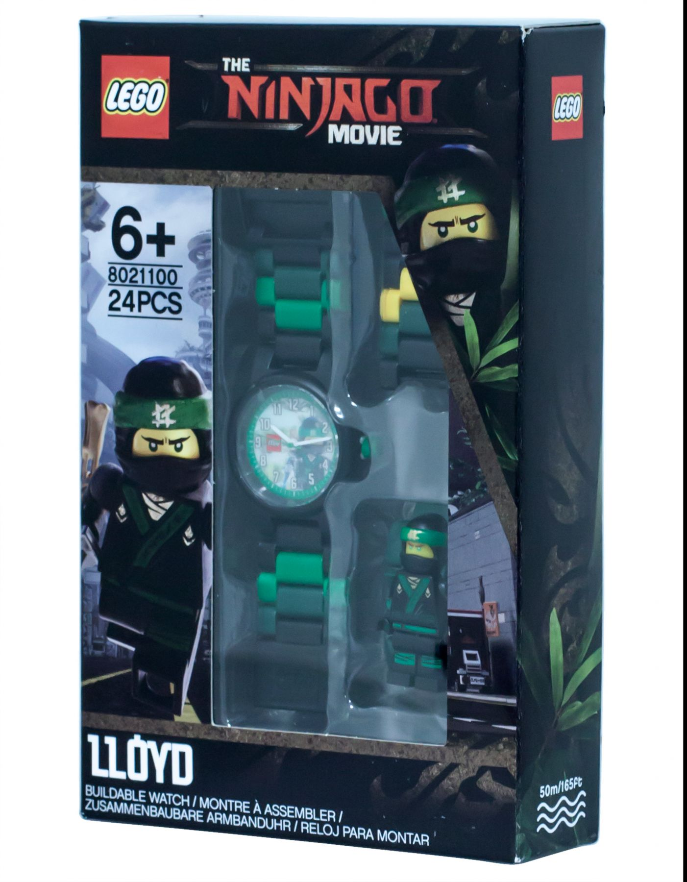 LEGO Gear 5005370 THE LEGO® NINJAGO® MOVIE™ Lloyd Minifigur-Armbanduhr LEGO_5005370_alt1.jpg