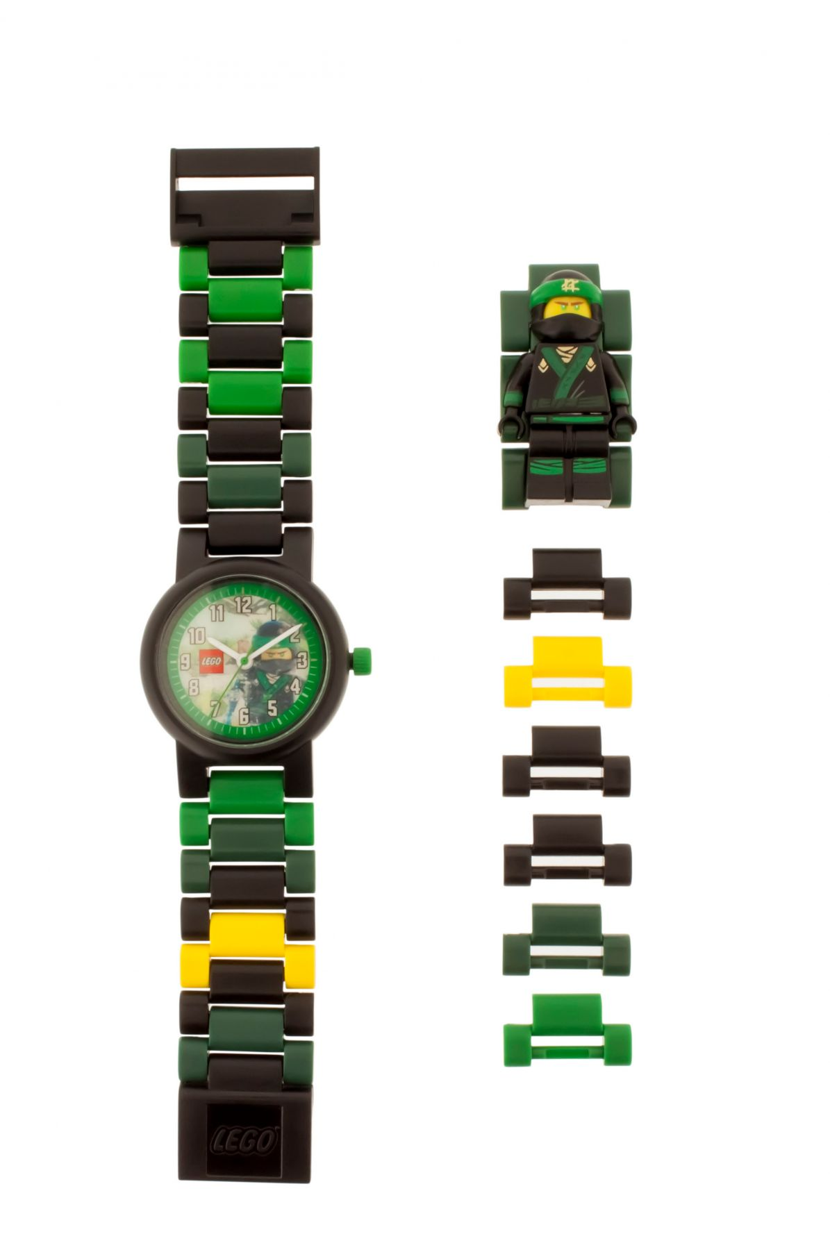 LEGO Gear 5005370 THE LEGO® NINJAGO® MOVIE™ Lloyd Minifigur-Armbanduhr LEGO_5005370_alt2.jpg
