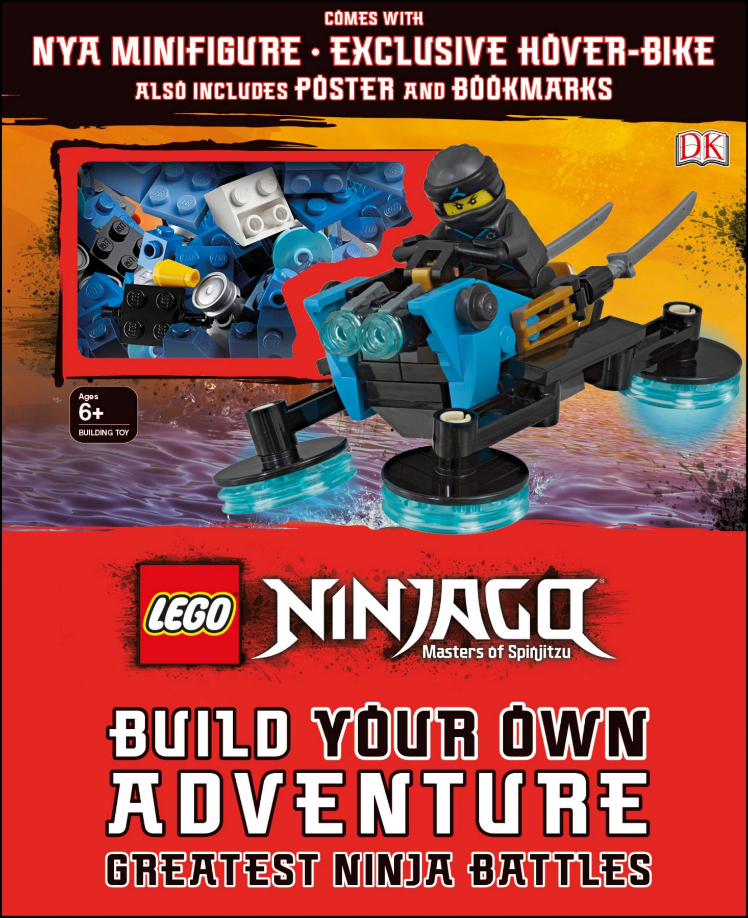 lego buch 5005656 lego ninjago build your own adventure. Black Bedroom Furniture Sets. Home Design Ideas