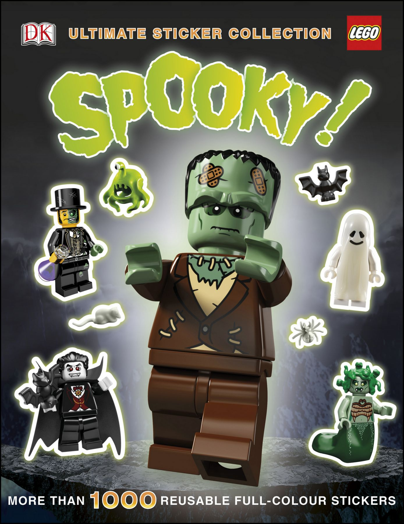 LEGO Buch 5005664 LEGO® Spooky! Ultimate Sticker Collection