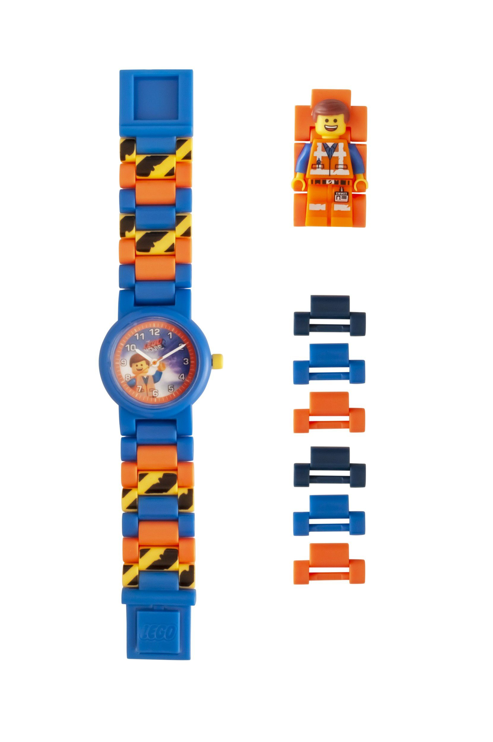 LEGO Gear 5005700 THE LEGO® MOVIE 2™ Minifiguren-Armbanduhr Emmet LEGO_5005700_alt2.jpg