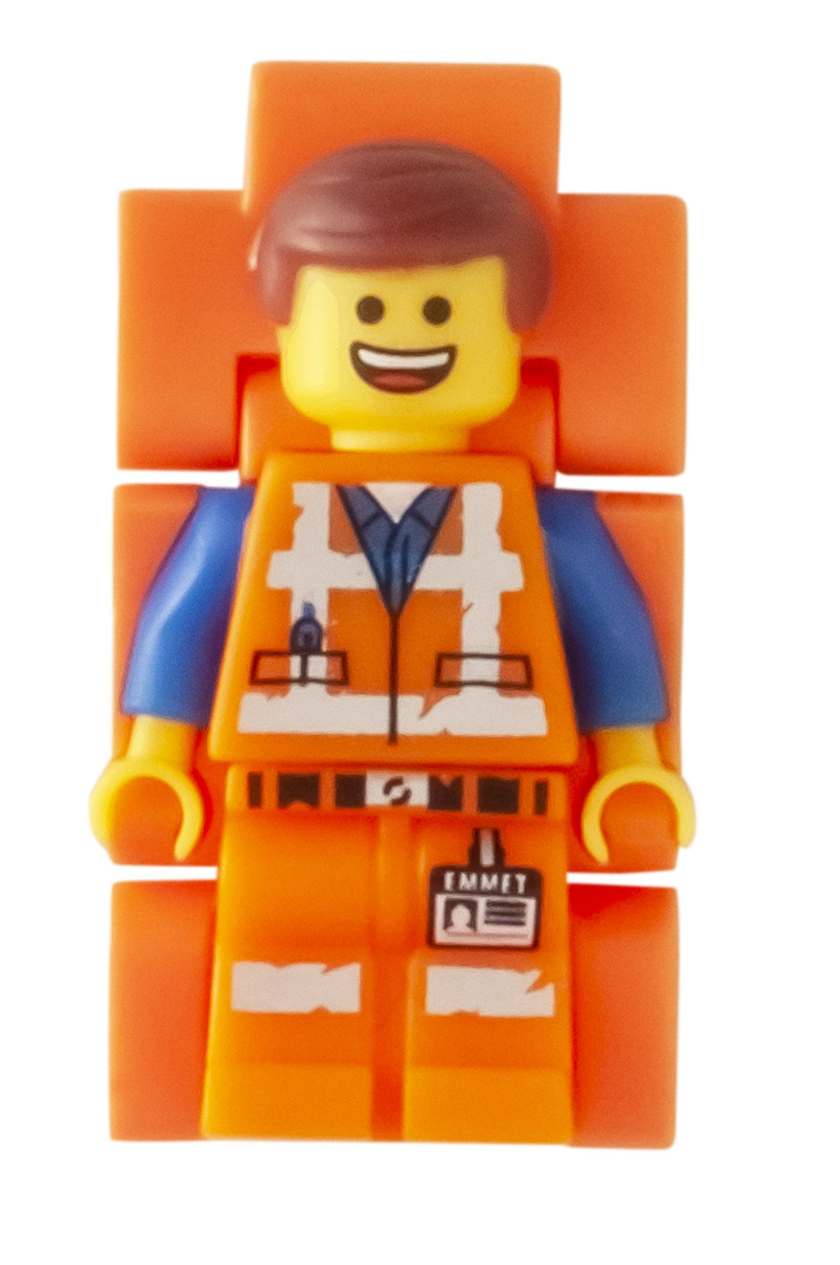LEGO Gear 5005700 THE LEGO® MOVIE 2™ Minifiguren-Armbanduhr Emmet LEGO_5005700_alt3.jpg