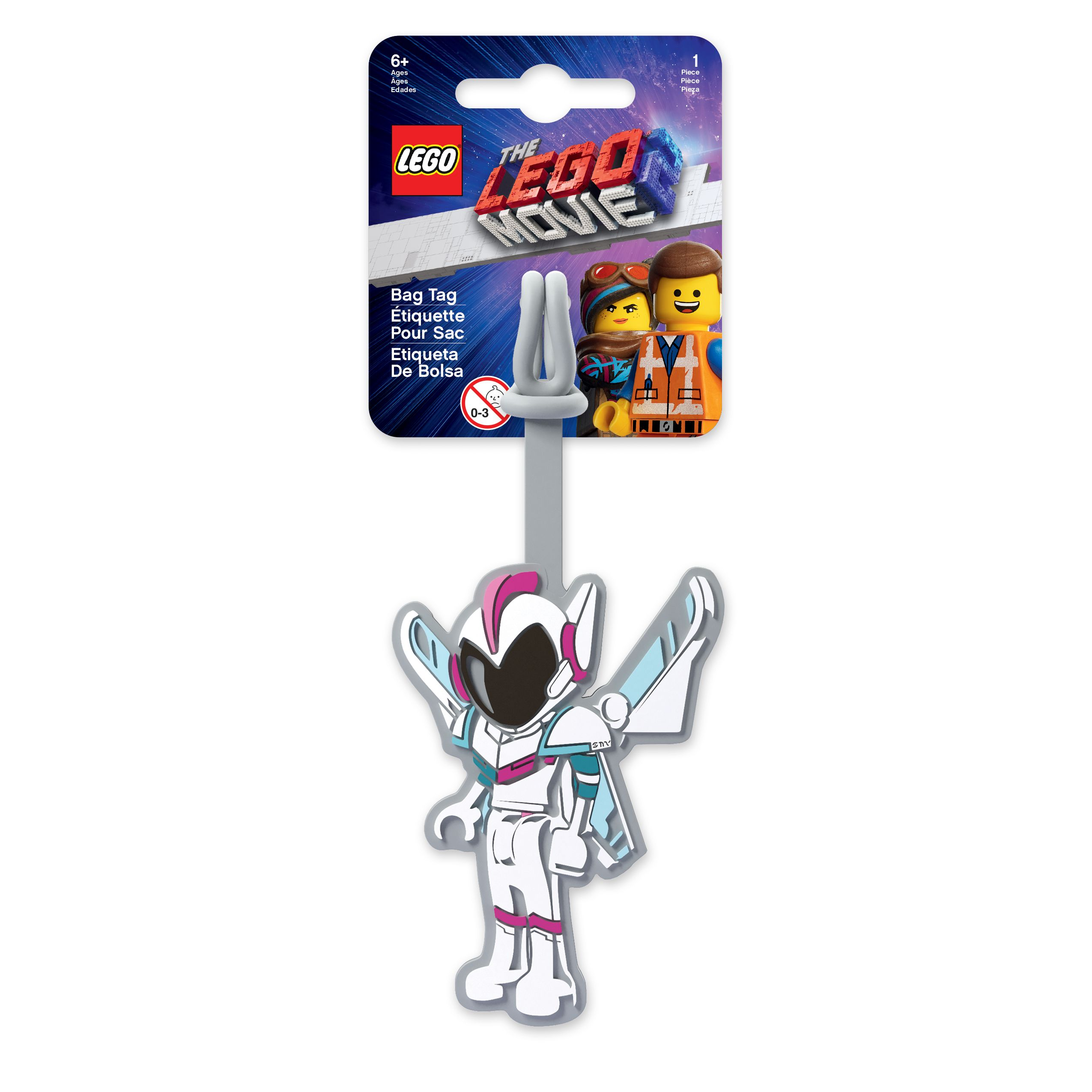 LEGO Gear 5005735 THE LEGO® MOVIE 2™ Sweet-Mayhem-Kofferanhänger LEGO_5005735_alt1.jpg
