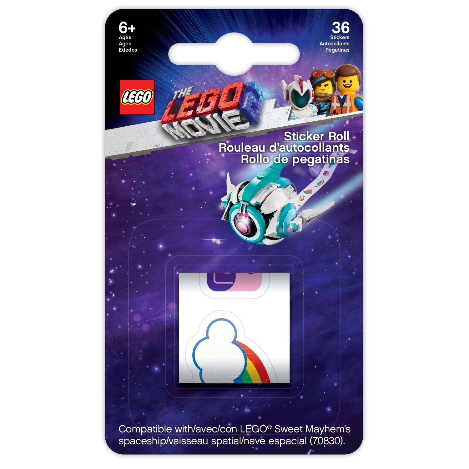 LEGO The Lego Movie 2 5005738 THE LEGO® MOVIE 2™ Stickerband LEGO_5005738_alt1.jpg