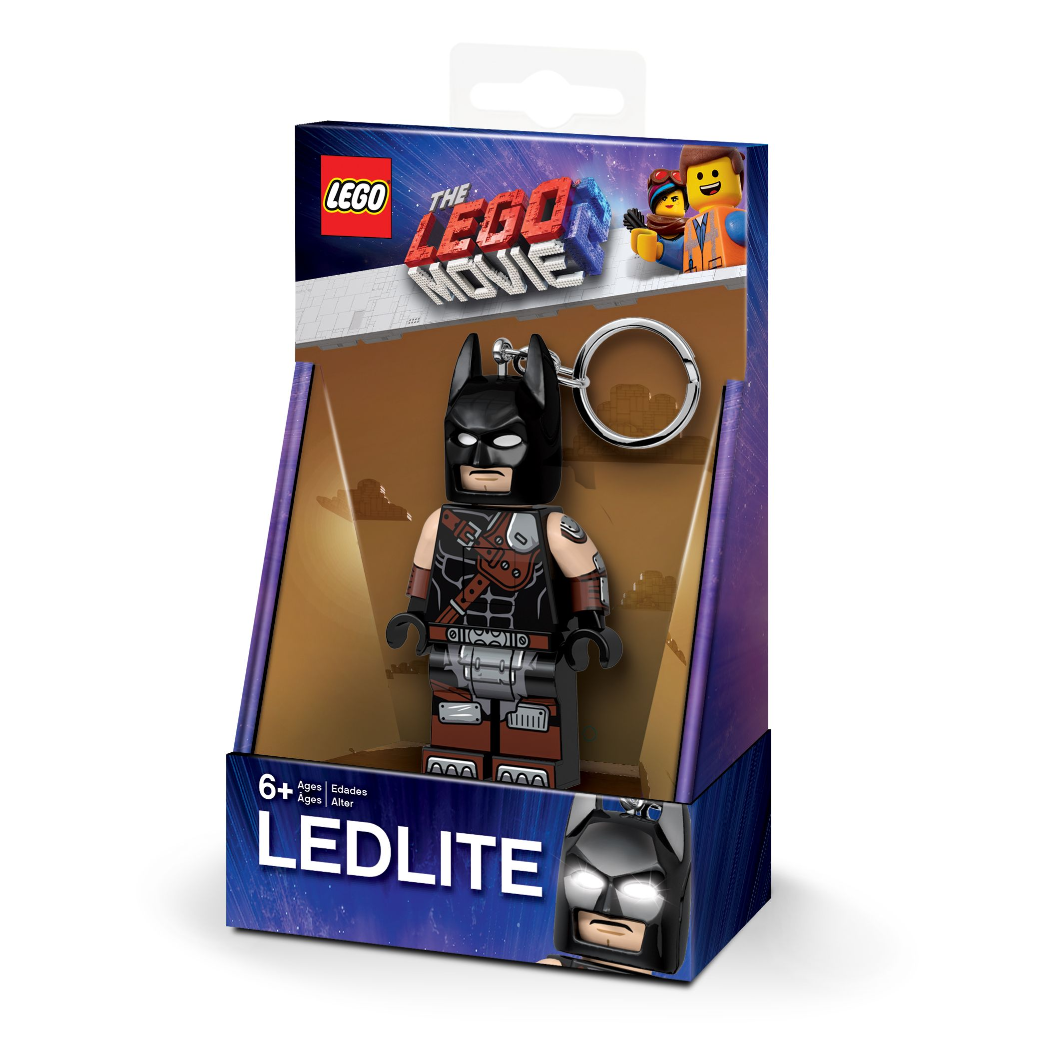 LEGO Gear 5005739 THE LEGO® MOVIE 2™ Batman™ Schlüsselanhänger mit Licht LEGO_5005739_alt1.jpg