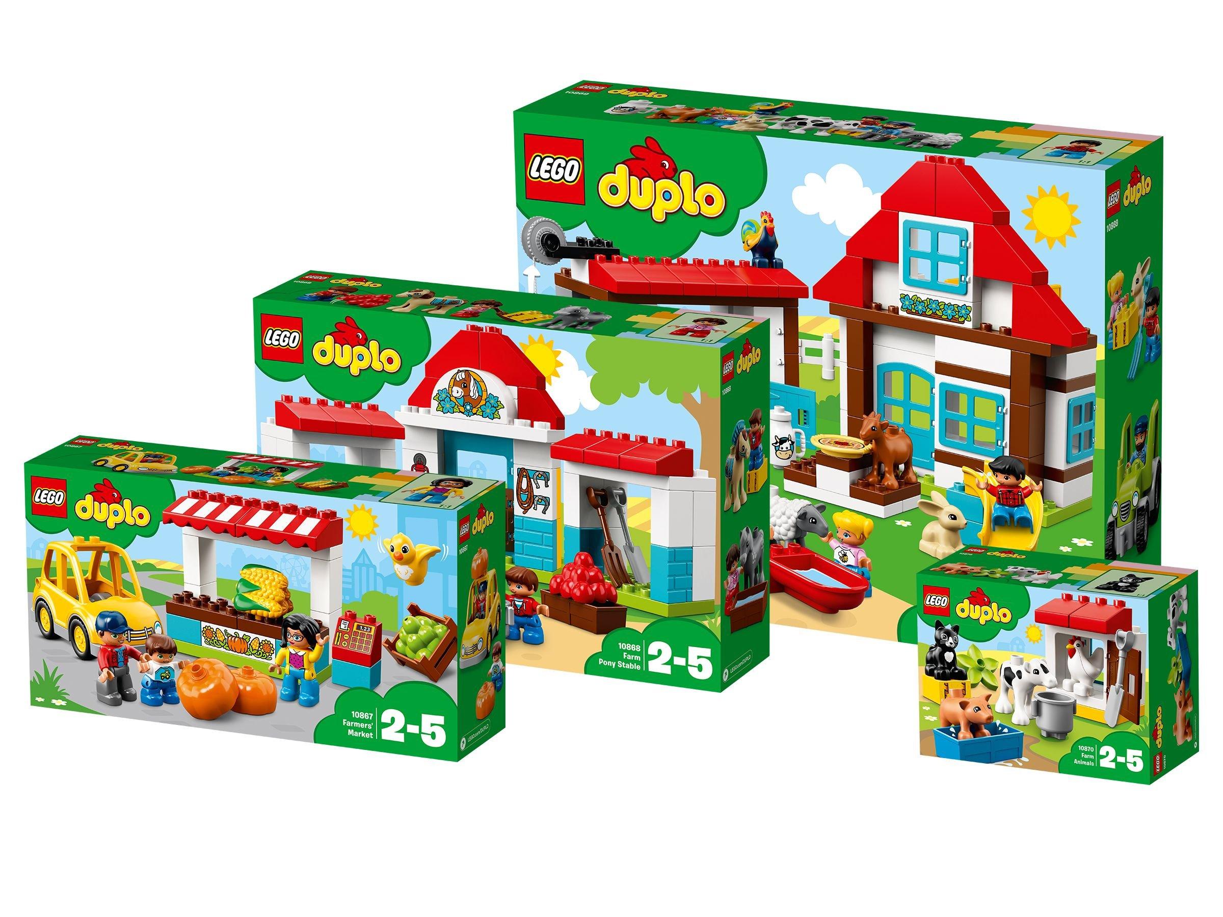 Lego Duplo 5005750 Lego Duplo Paket žspaß Auf Dem Bauernhof œ