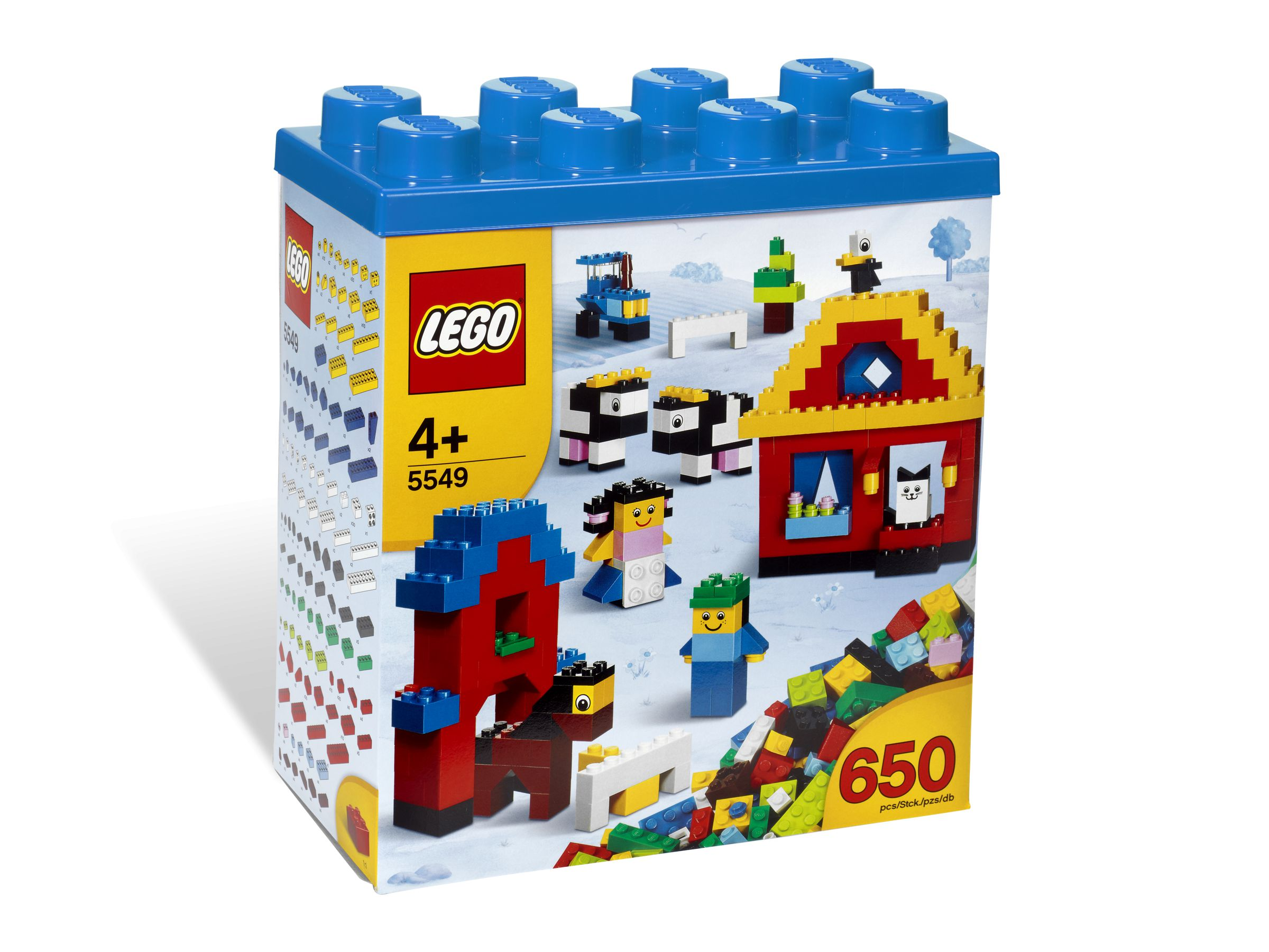 LEGO Bricks and More 5549 Bausteine Box