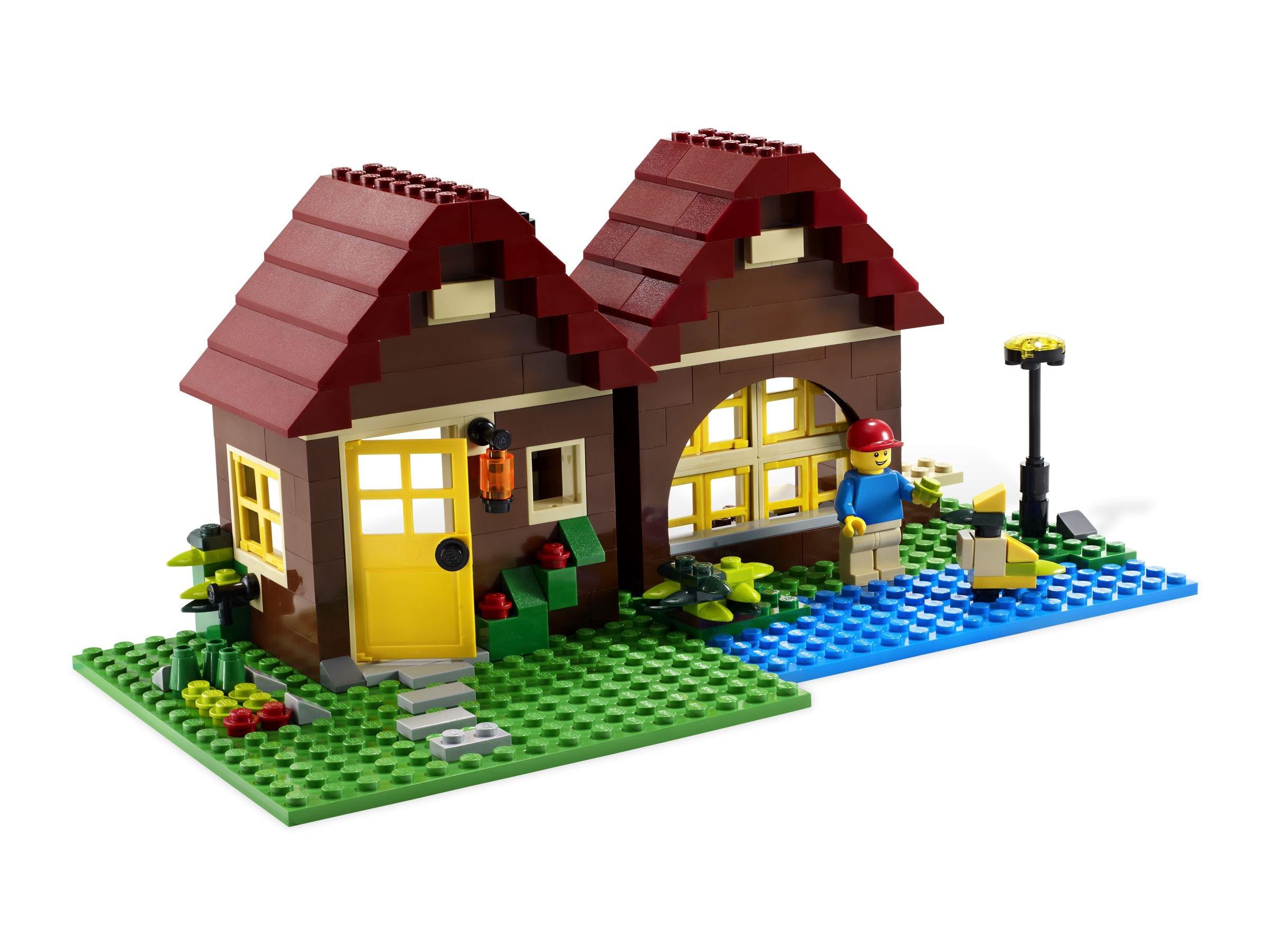 lego creator 5766 blockhaus brickmerge preisvergleich. Black Bedroom Furniture Sets. Home Design Ideas