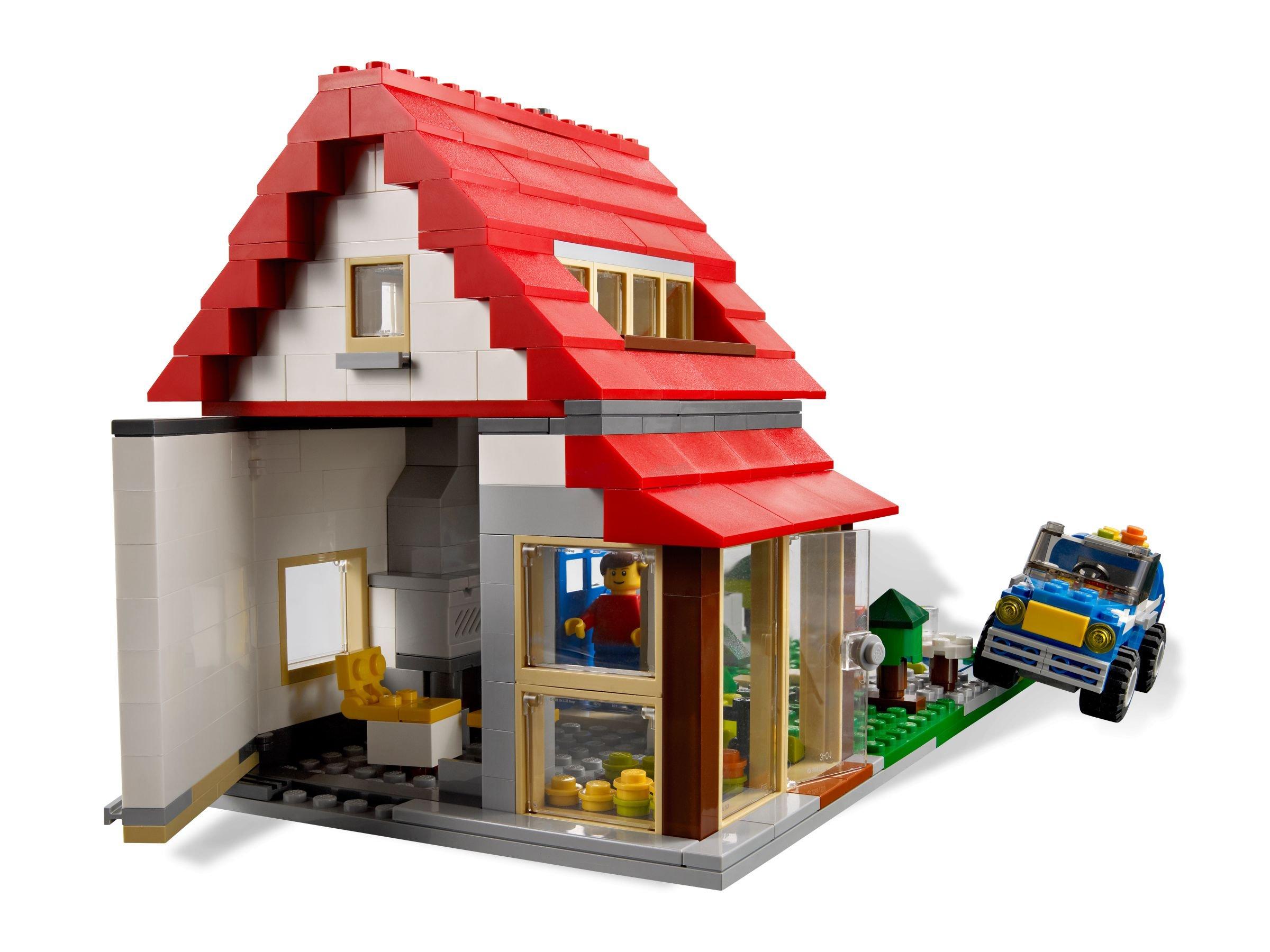 Как сделать дом лего сити