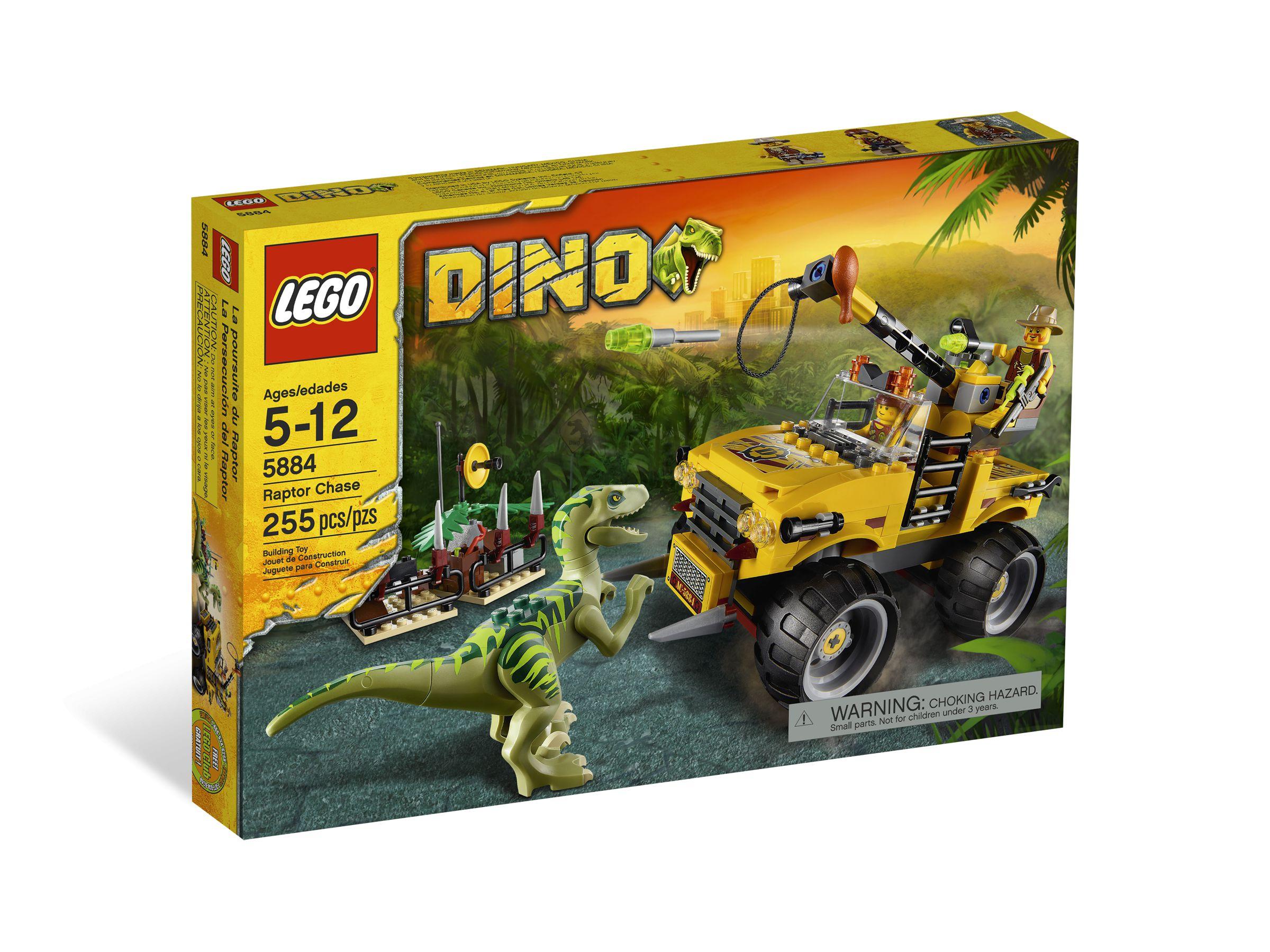 Lego 5884 Dino Jagd Nach Dem Raptor Im Brickmerge Preisvergleich-5581