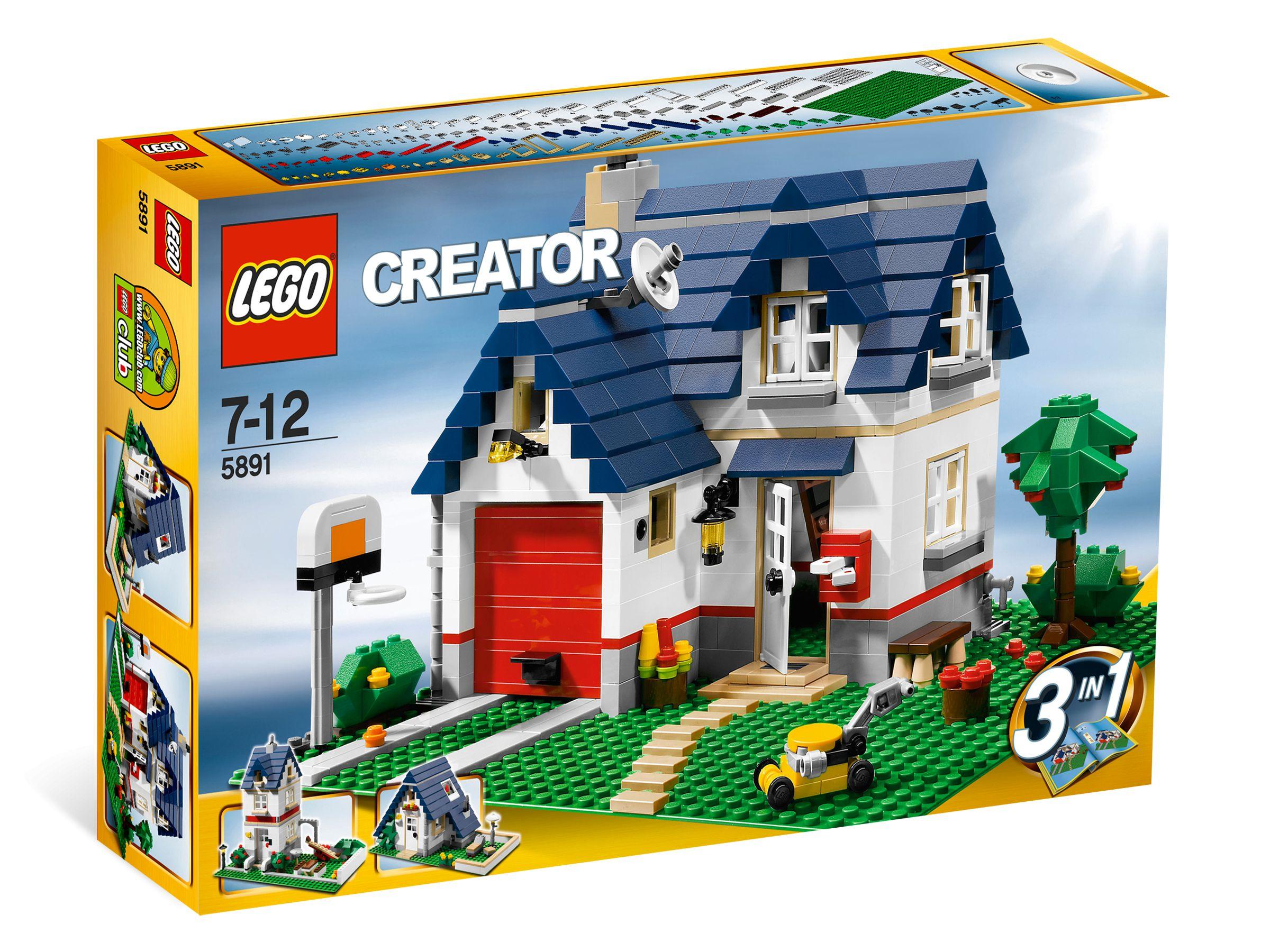LEGO Creator 5891 Haus mit Garage brickmerge Preisvergleich