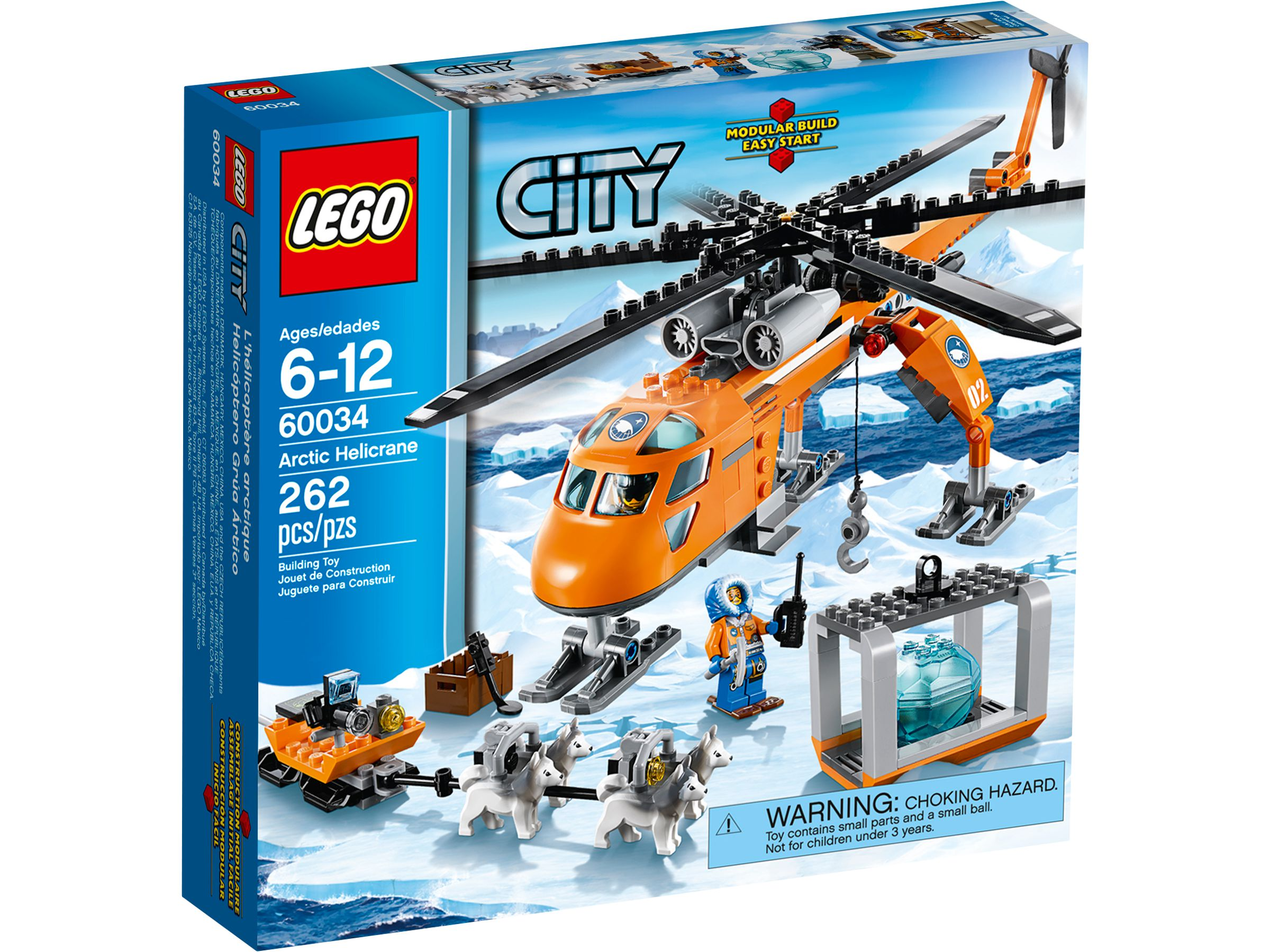 lego 60034 arktis helikopter mit hundeschlitten city 2014 arctic helicrane brickmerge. Black Bedroom Furniture Sets. Home Design Ideas