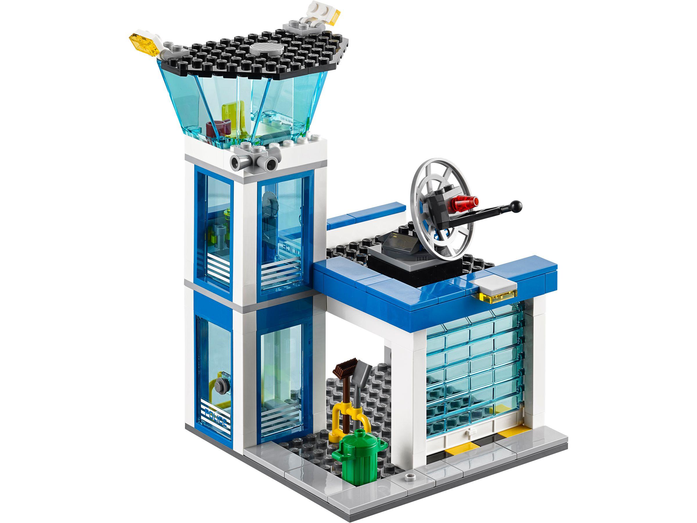 lego 60047 ausbruch aus der polizeistation city 2014 police station brickmerge. Black Bedroom Furniture Sets. Home Design Ideas