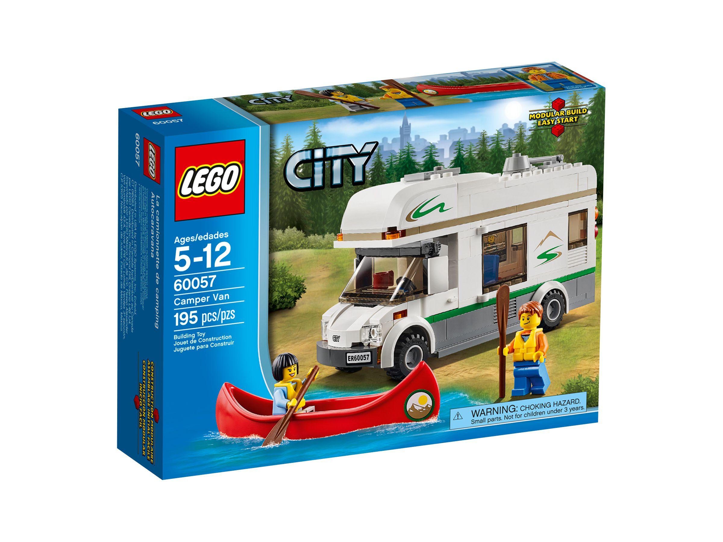 lego 60057 wohnmobil mit kanu city 2014 camper van brickmerge. Black Bedroom Furniture Sets. Home Design Ideas