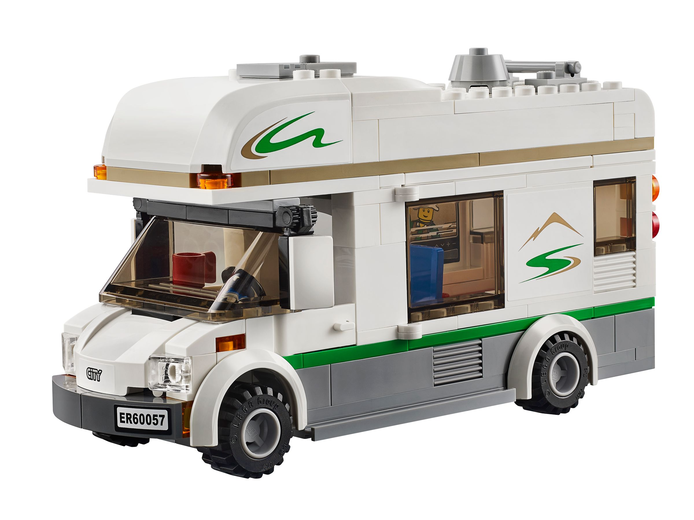 lego 60057 wohnmobil mit kanu city 2014 camper van brickmerge. Black Bedroom Furniture Sets. Home Design Ideas