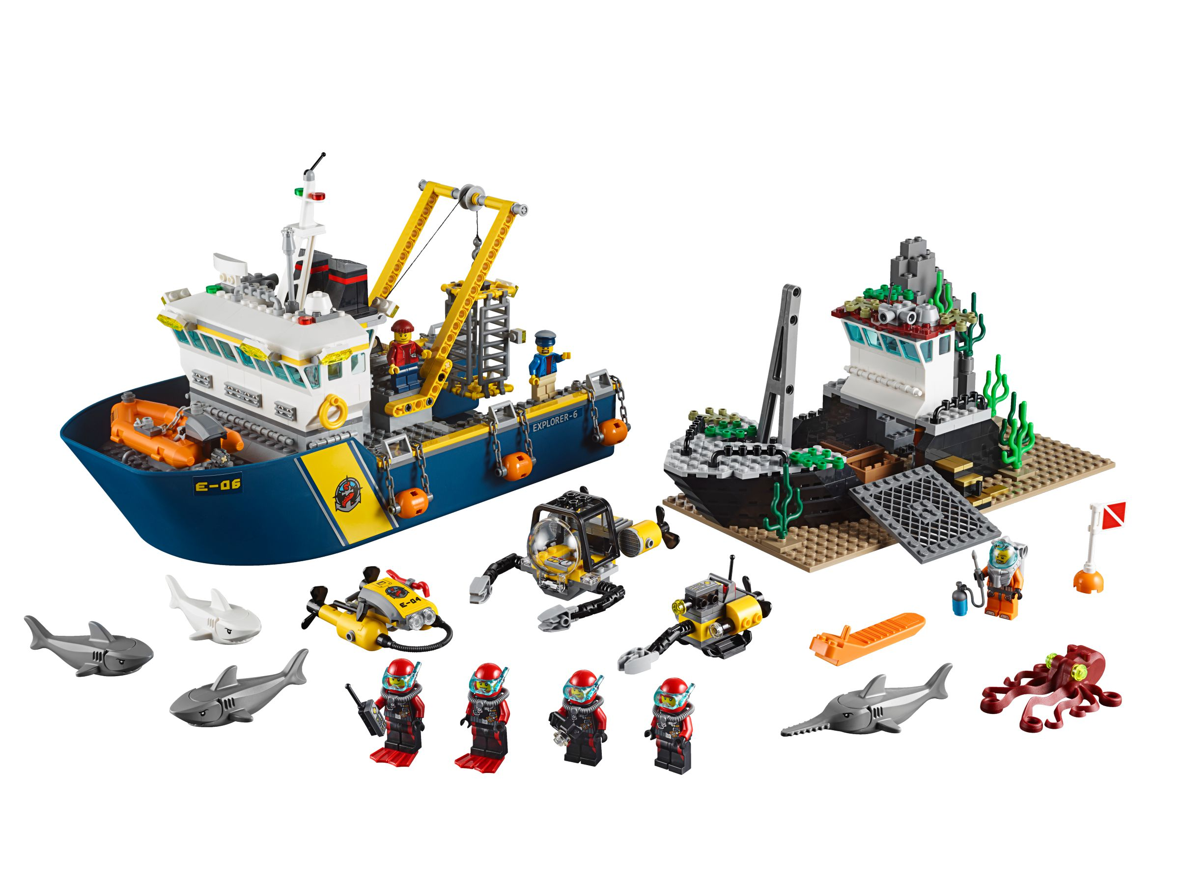 LEGO City 60095 Tiefsee-Expeditionsschiff LEGO_60095.jpg