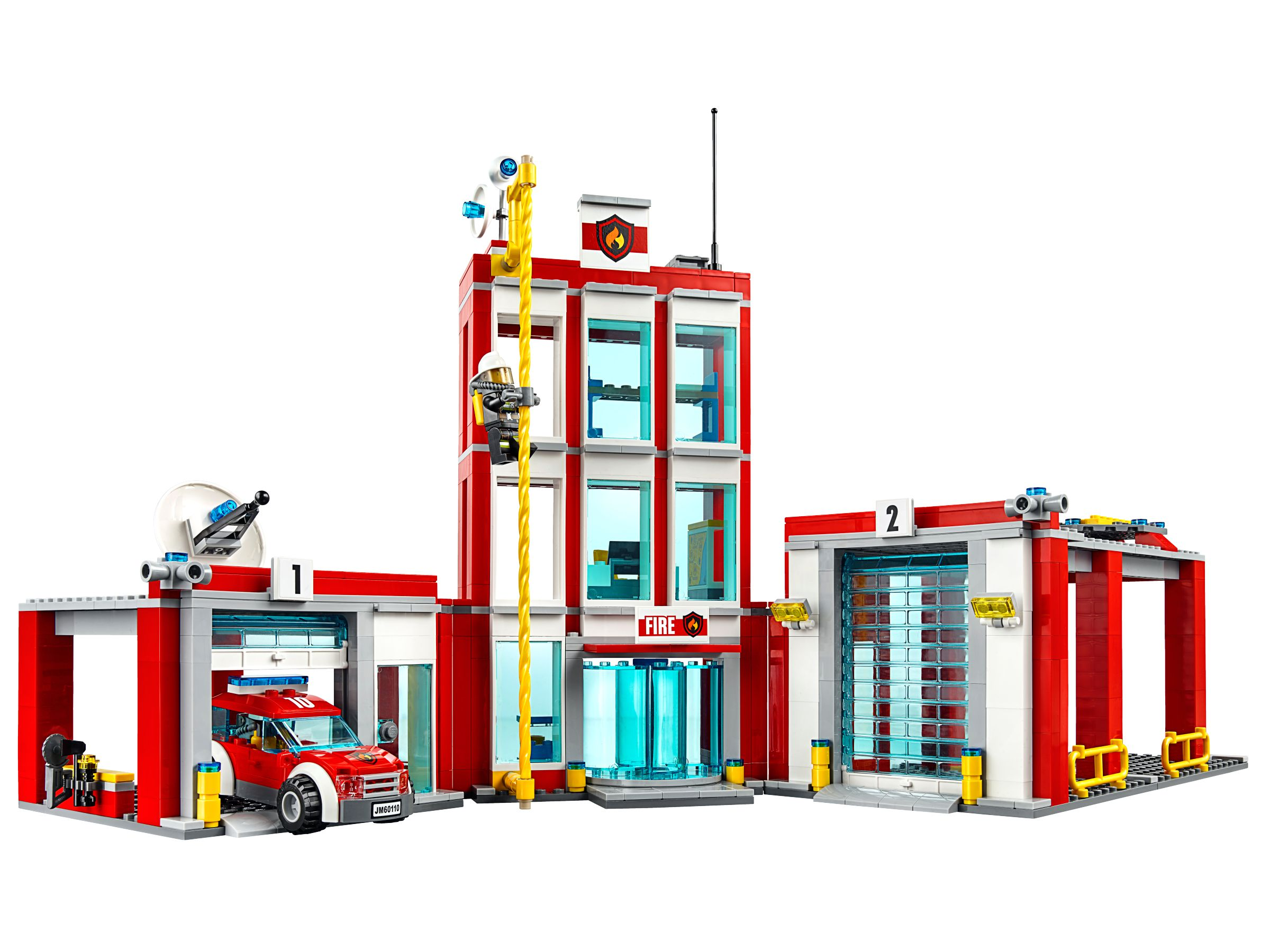 lego 60110 gro e feuerwehrstation city 2016 ab 53 72 46 gespart fire station brickmerge. Black Bedroom Furniture Sets. Home Design Ideas