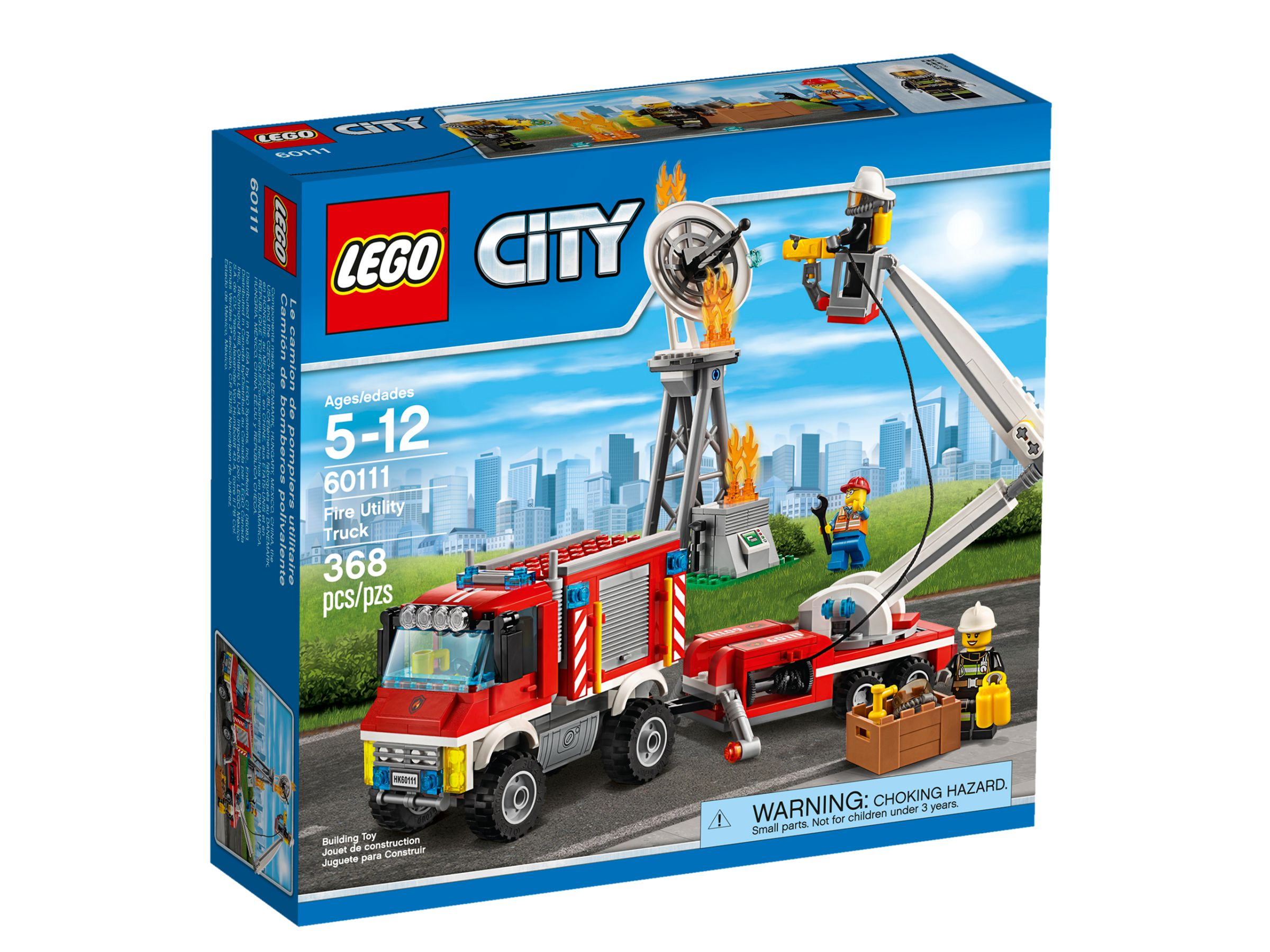 lego 60111 feuerwehr einsatzfahrzeug city 2016 fire utility truck brickmerge. Black Bedroom Furniture Sets. Home Design Ideas