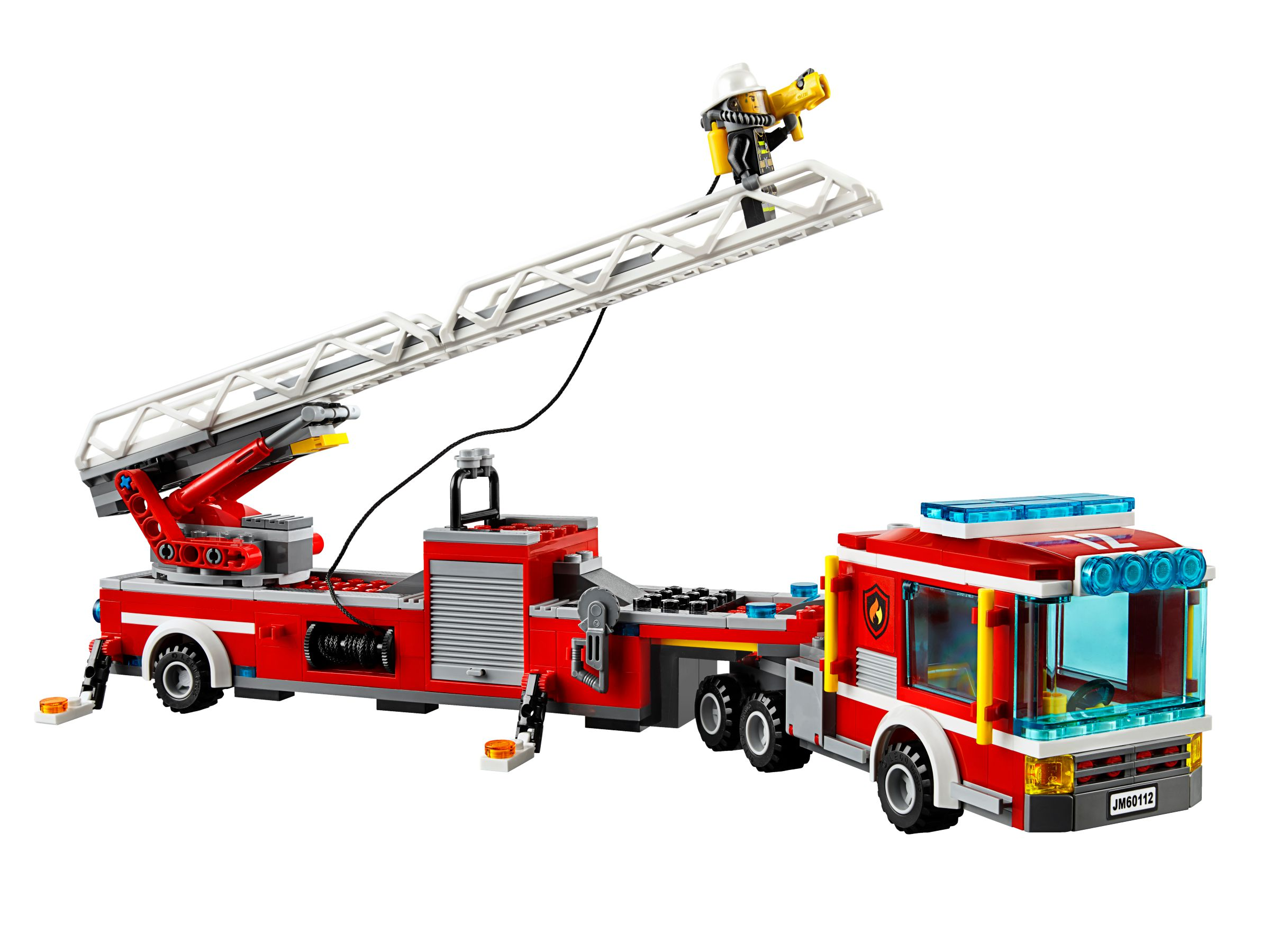 lego 60112 feuerwehrauto mit kran city 2016 fire engine brickmerge. Black Bedroom Furniture Sets. Home Design Ideas