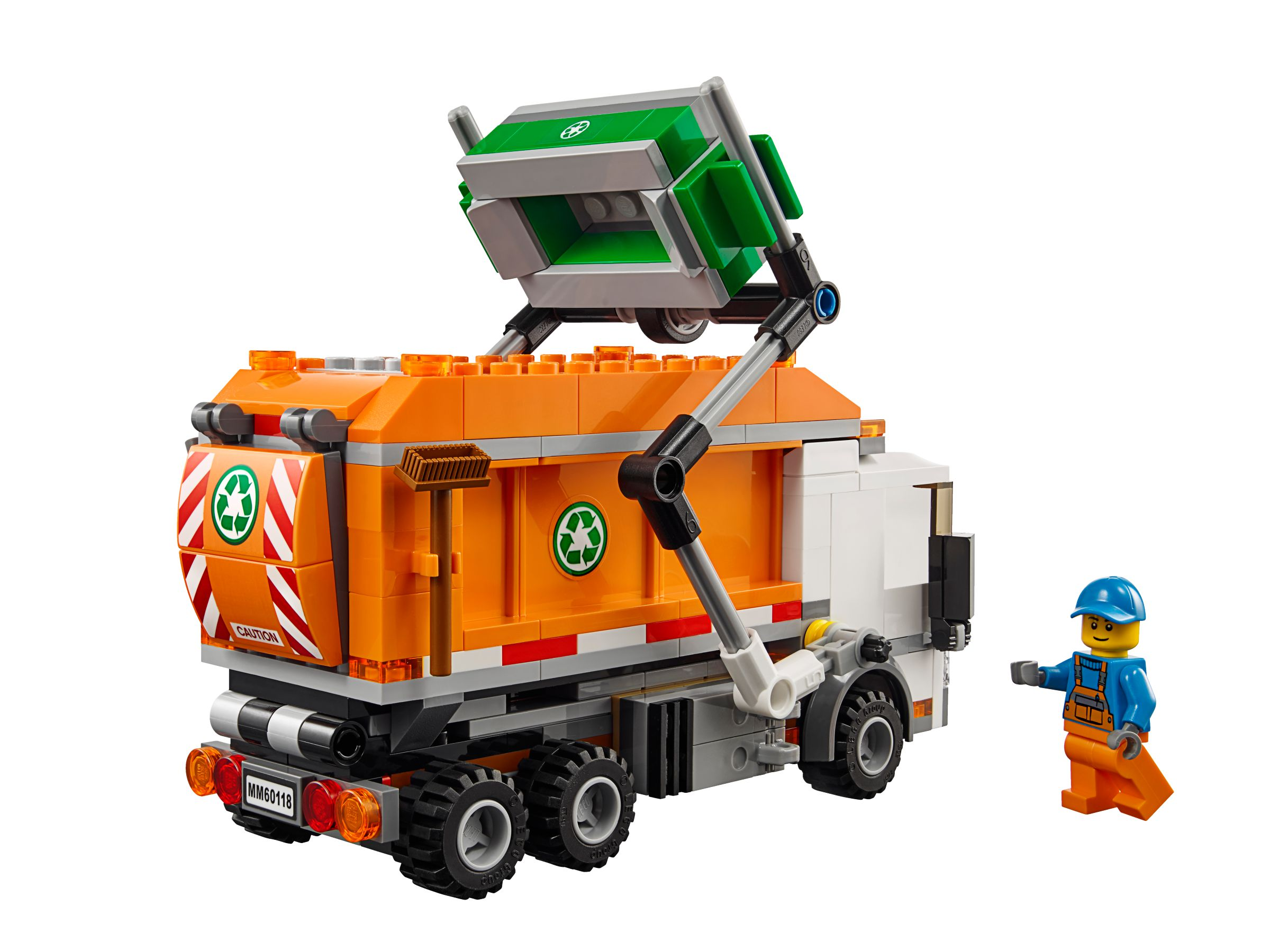 m llabfuhr 60118 lego city 2016 im preisvergleich garbage truck. Black Bedroom Furniture Sets. Home Design Ideas