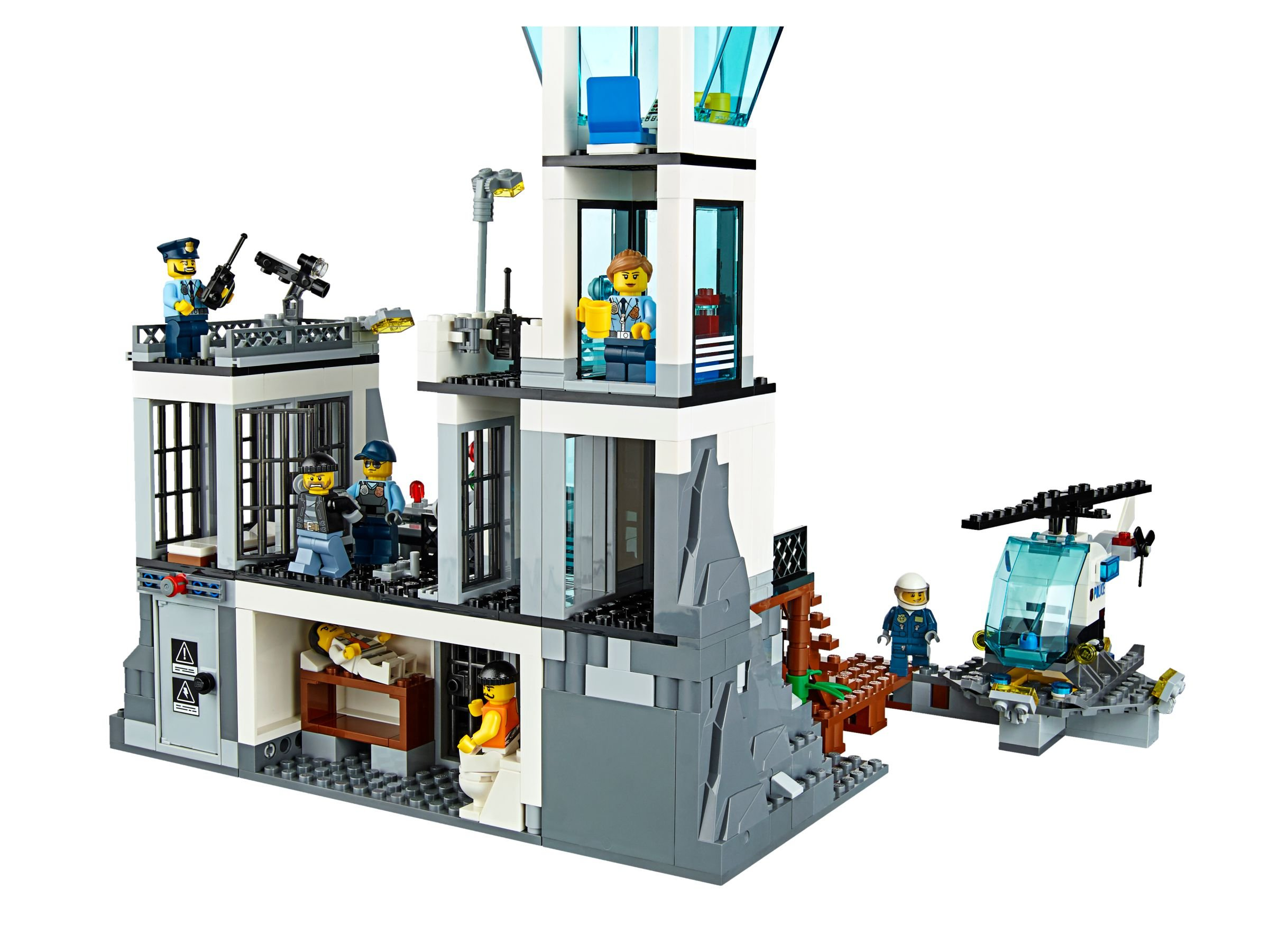 lego 60130 polizeiquartier auf der gef ngnisinsel city 2016 prison island brickmerge. Black Bedroom Furniture Sets. Home Design Ideas