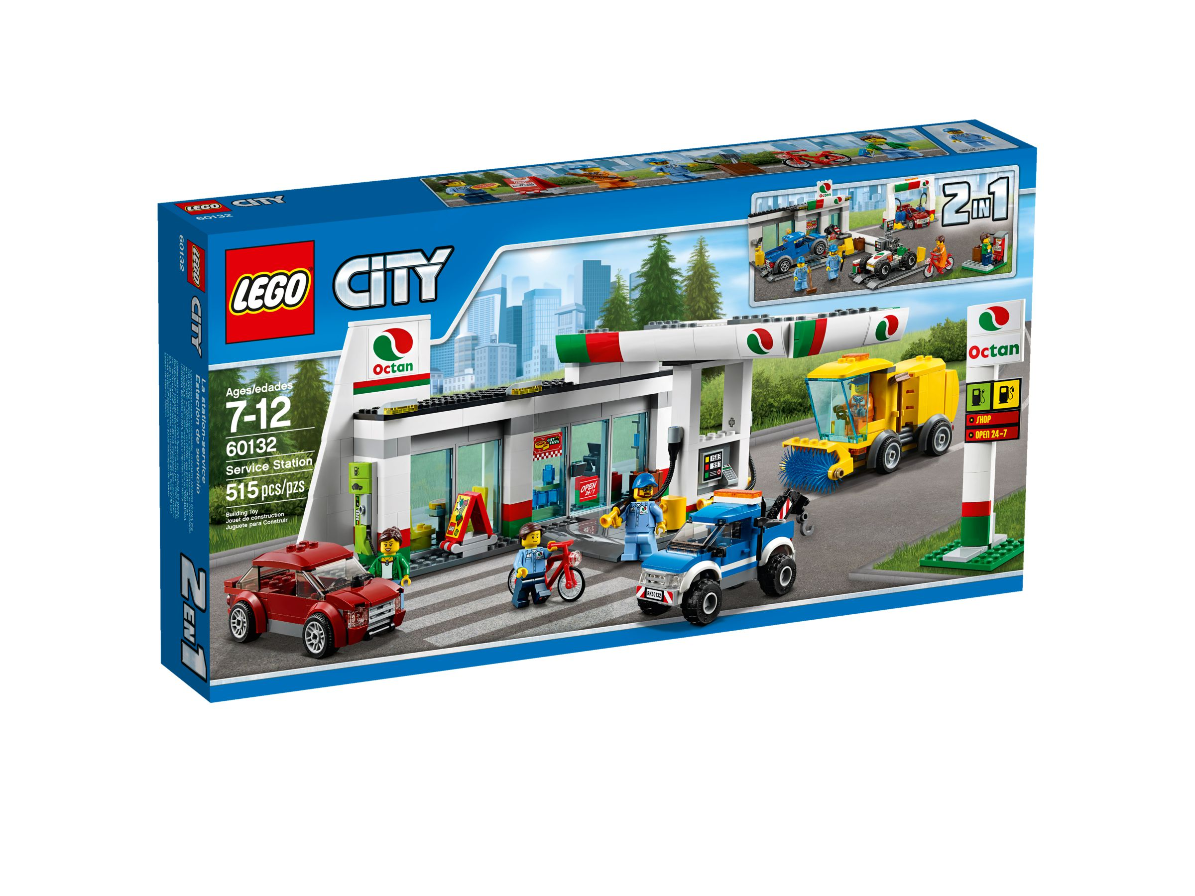 lego 60132 tankstelle city 2016 service station brickmerge. Black Bedroom Furniture Sets. Home Design Ideas