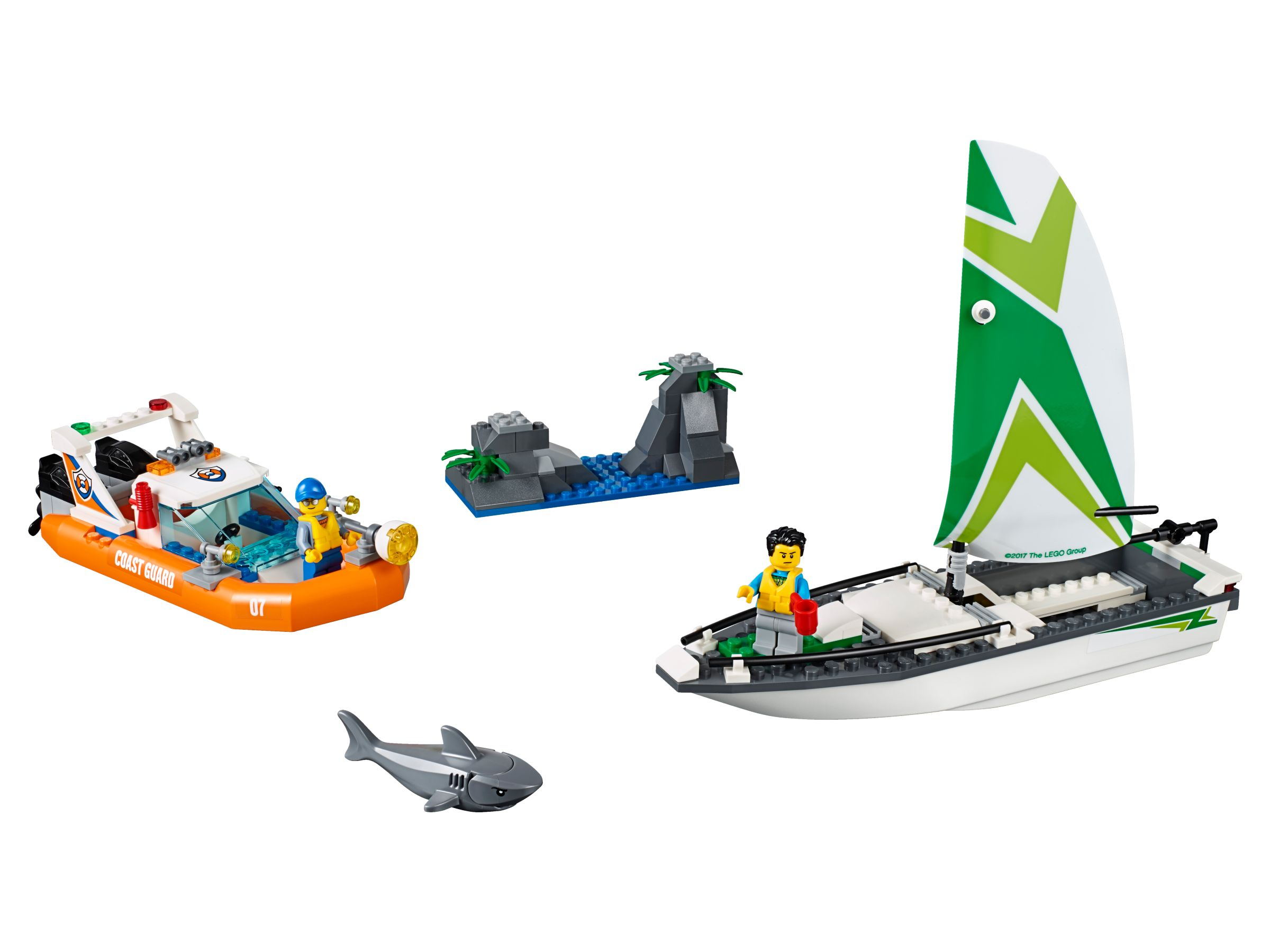 LEGO City 60168 Segelboot in Not