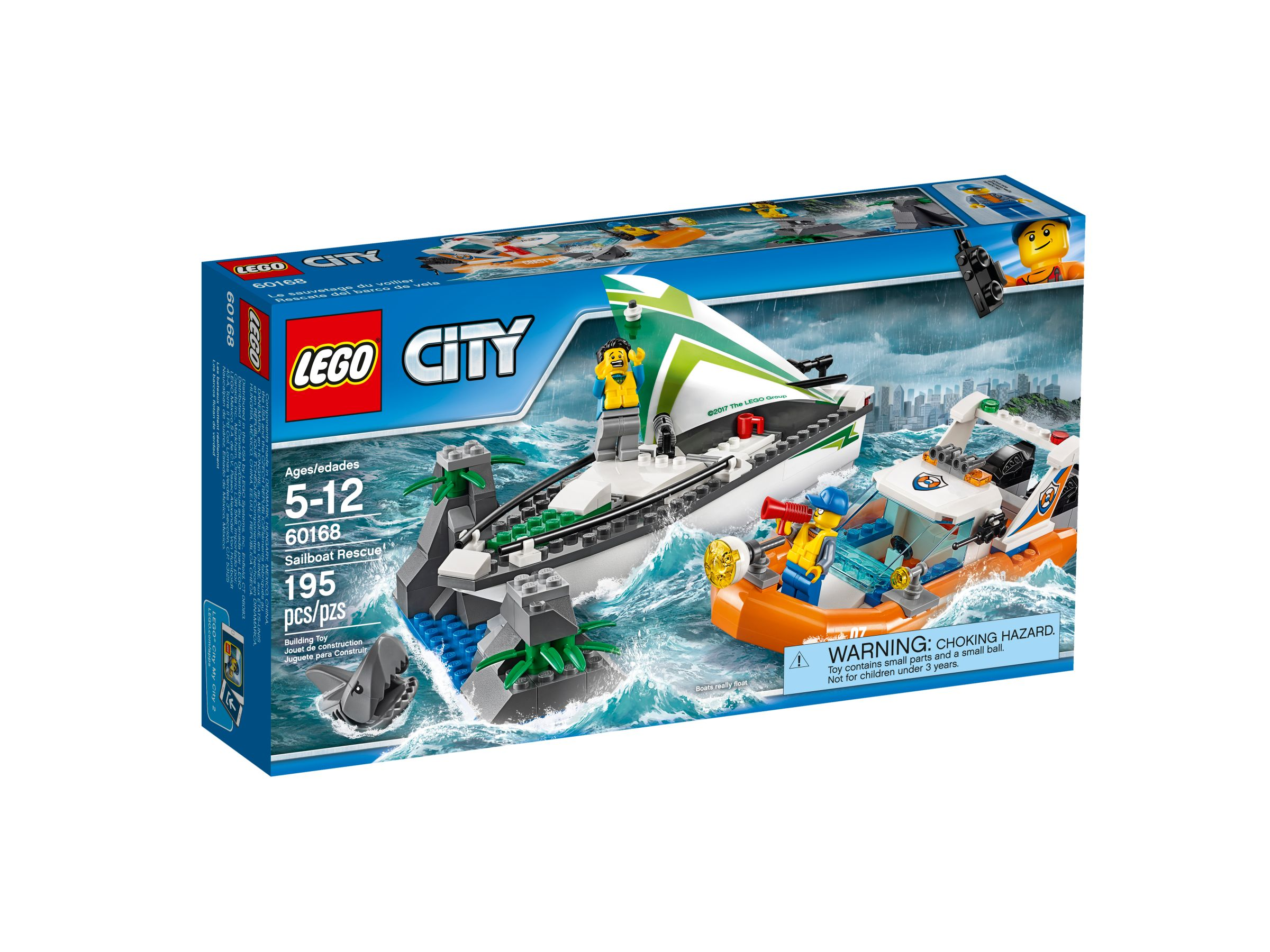 LEGO City 60168 Segelboot in Not LEGO_60168_alt1.jpg