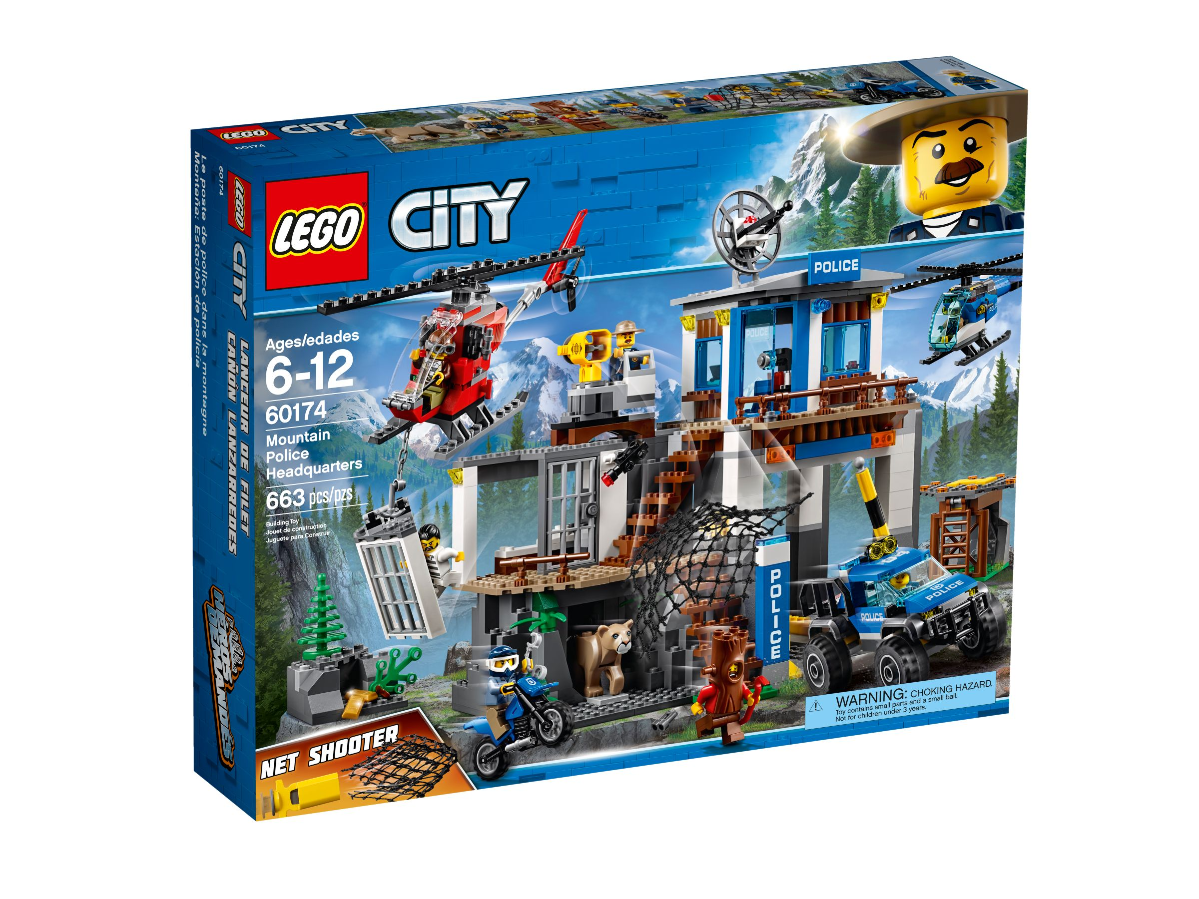 lego city 60174 hauptquartier der gebirgspolizei ab 54 98. Black Bedroom Furniture Sets. Home Design Ideas