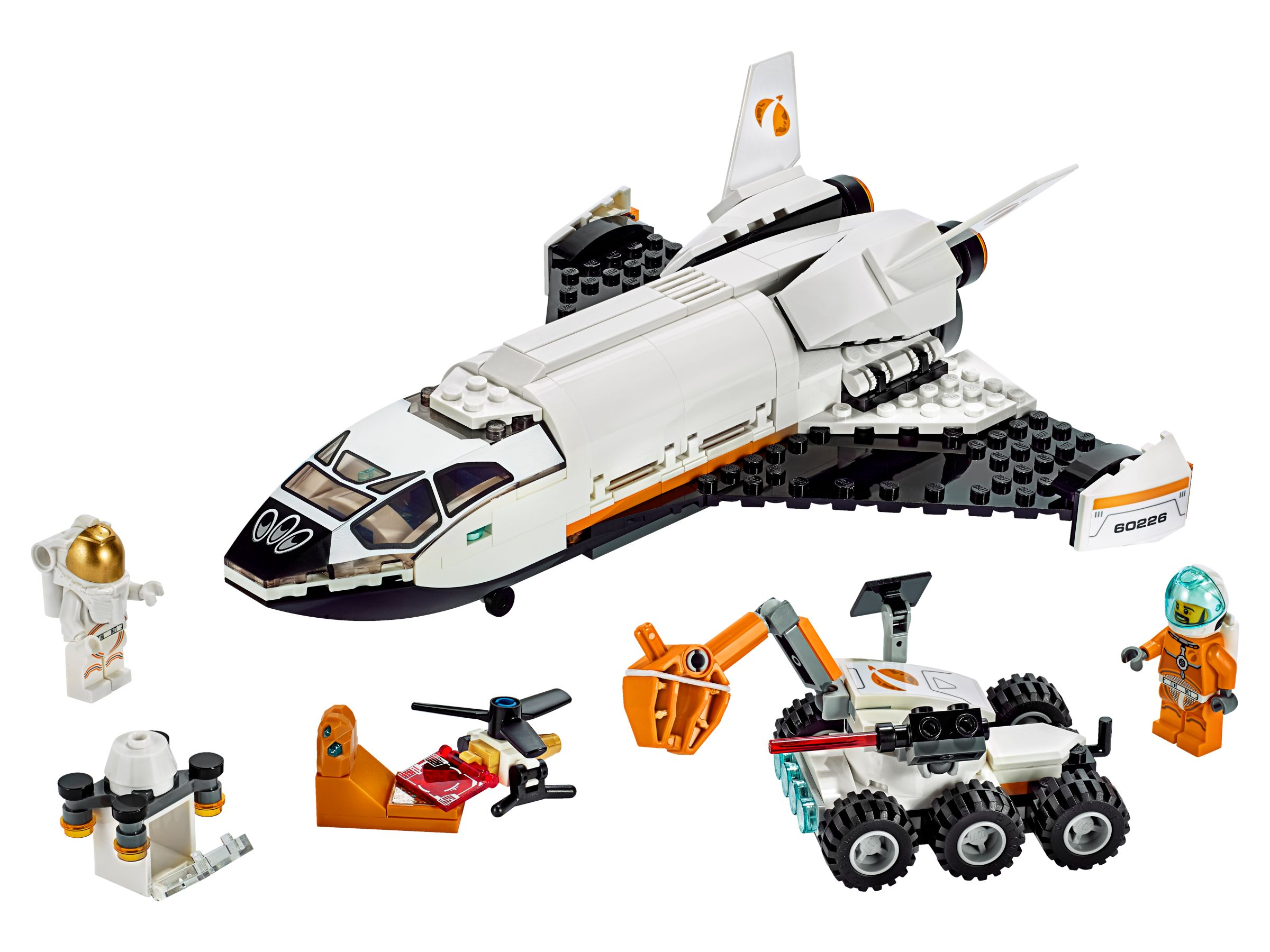 LEGO City 60226 Mars Mission Forschungsshuttle